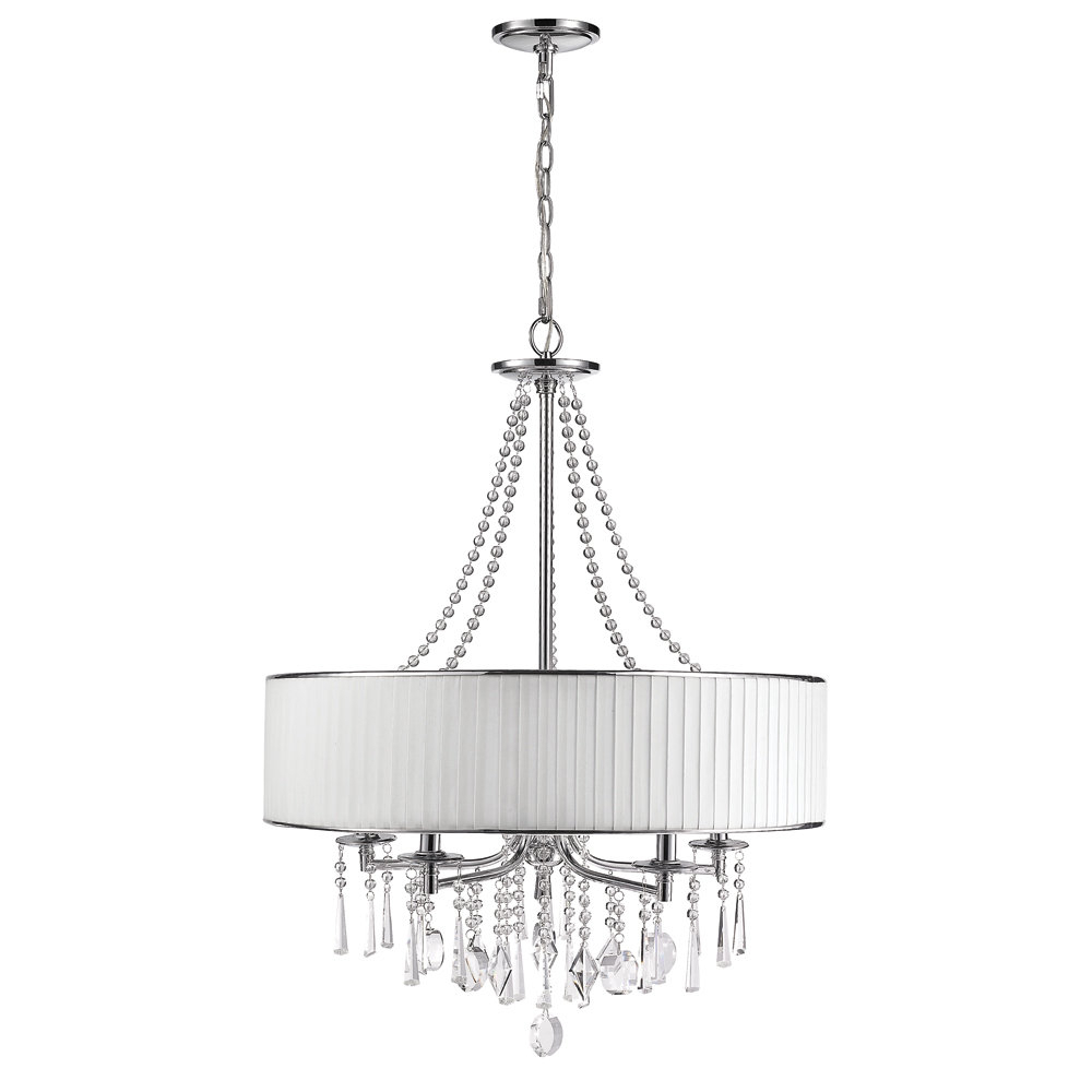 Well Known Abel 5 Light Drum Chandelier Intended For Abel 5 Light Drum Chandeliers (View 24 of 25)