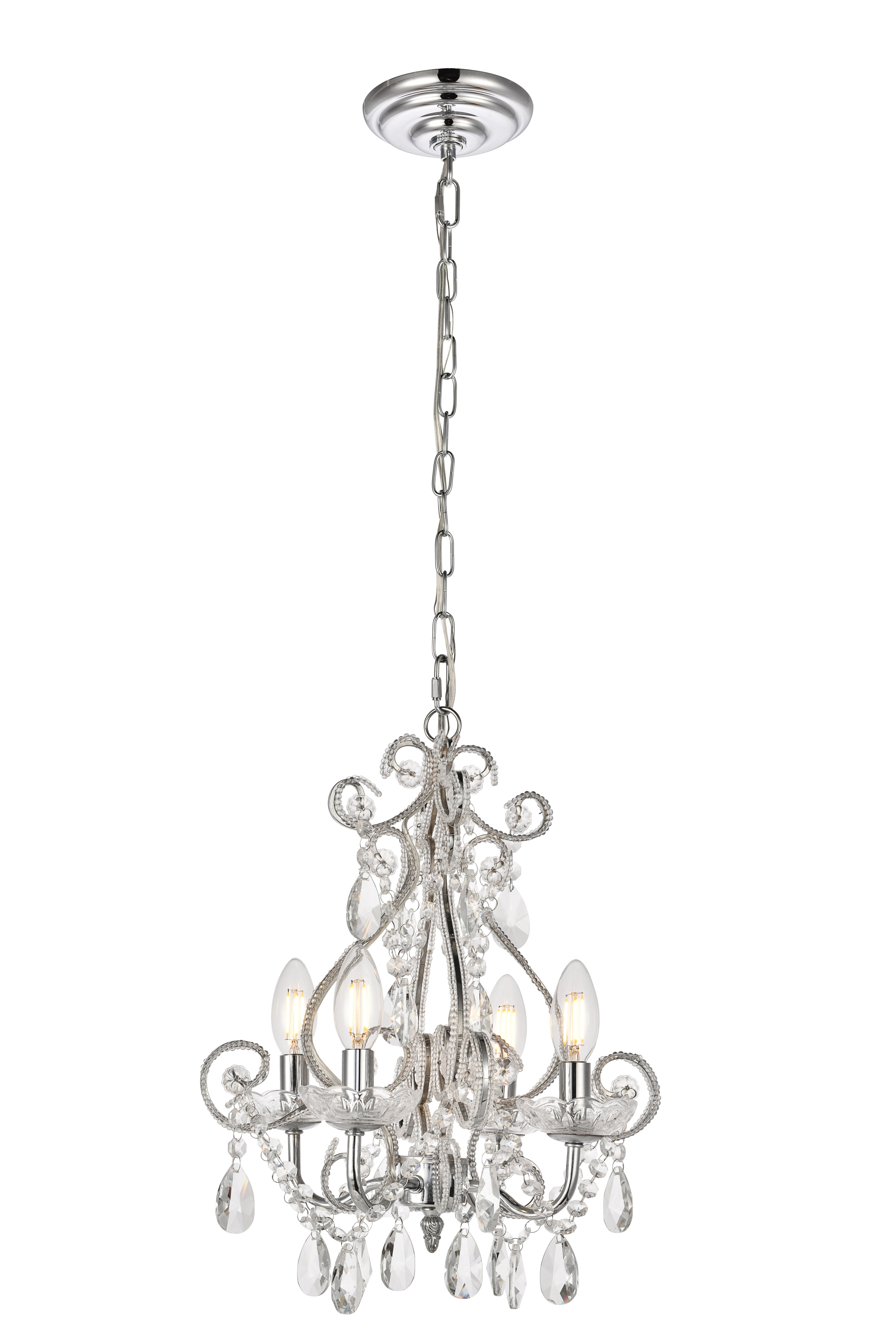 Well Known Aldora 4 Light Candle Style Chandeliers Regarding Burcott 4 Light Candle Style Chandelier (View 3 of 25)