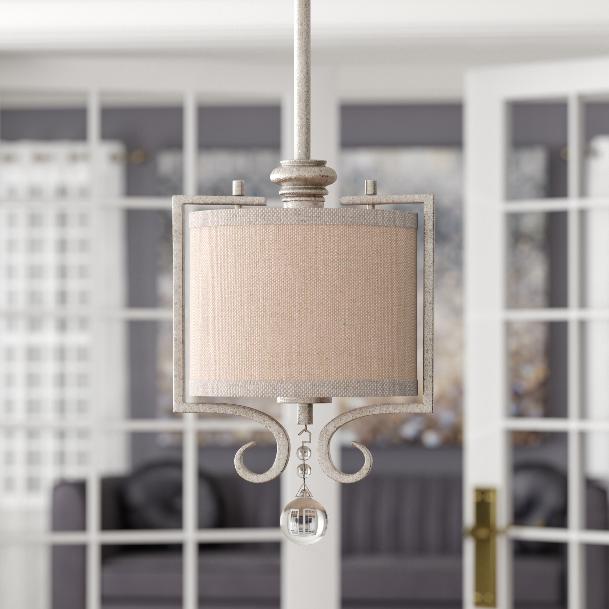 Well Known Beasley 1 Light Drum Pendant Pertaining To Kraker 1 Light Single Cylinder Pendants (View 13 of 25)