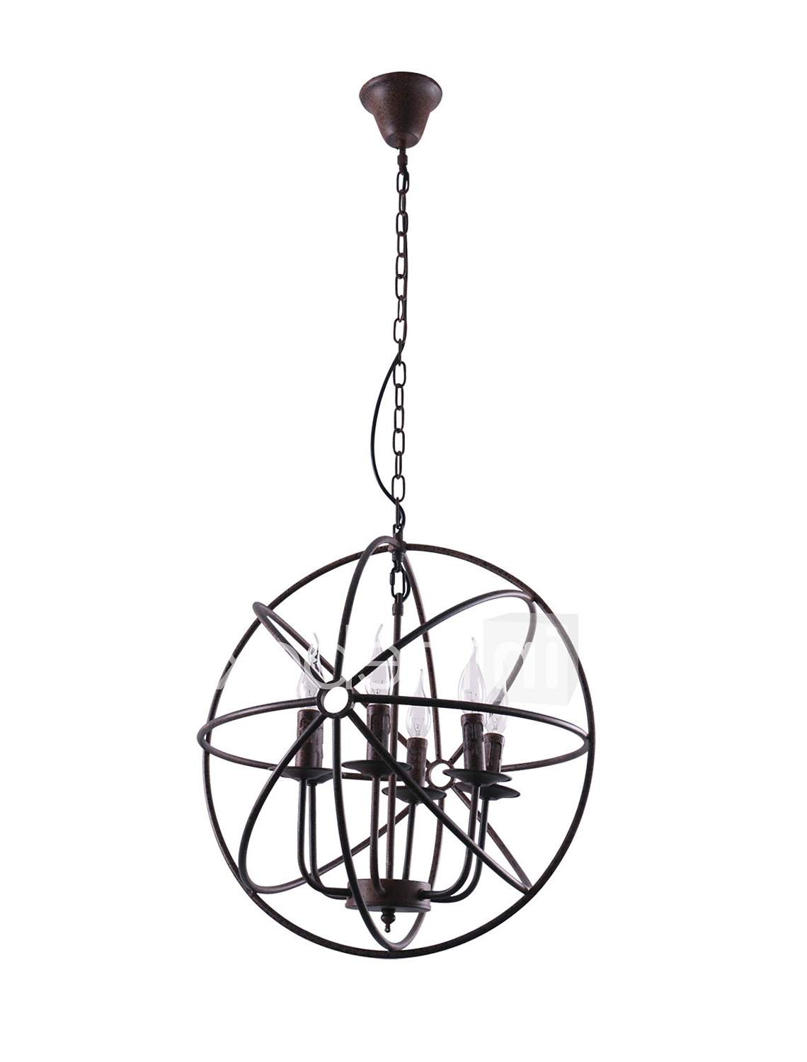 Well Known Camilla 9 Light Candle Style Chandeliers With Globe Chandelier Uplight Painted Finishes Metal Candle Style (View 20 of 25)