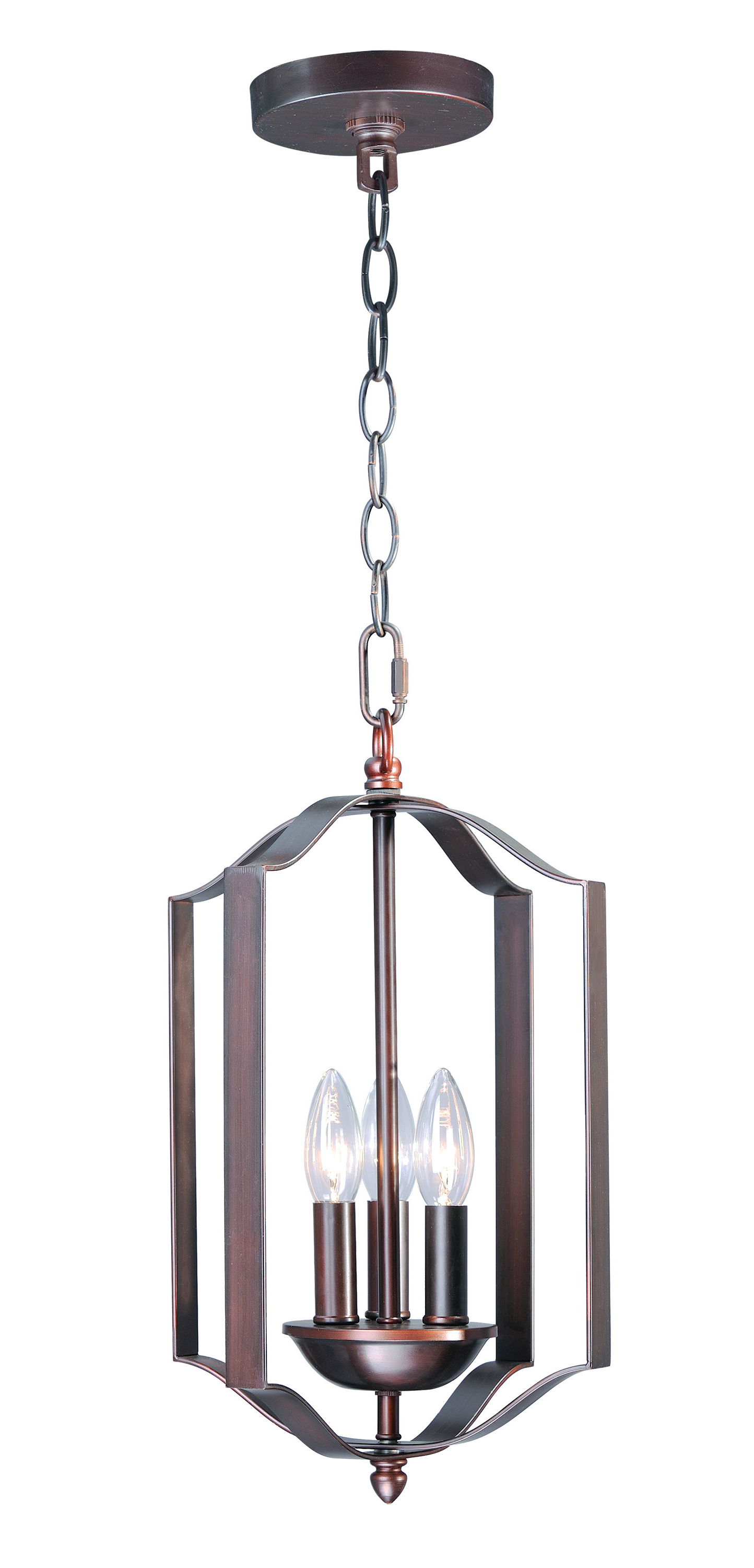 Well Known Chauvin 3 Light Lantern Geometric Pendants Throughout Mielke 3 Light Lantern Pendent (View 12 of 25)