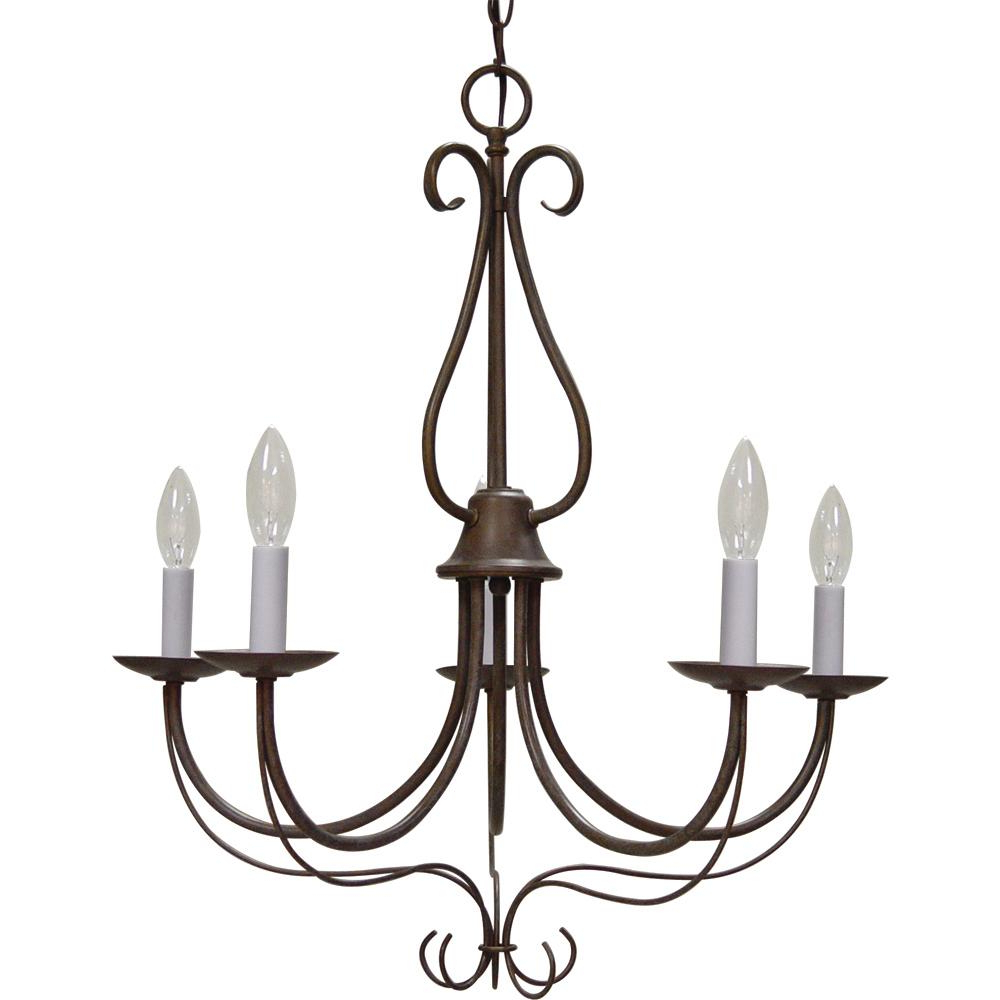 Well Known Diaz 6 Light Candle Style Chandeliers Regarding Volume Lighting Minster Indoor / Interior 5 Light Prairie Rock Candle Style  Chandelier With Candelabra (View 23 of 25)