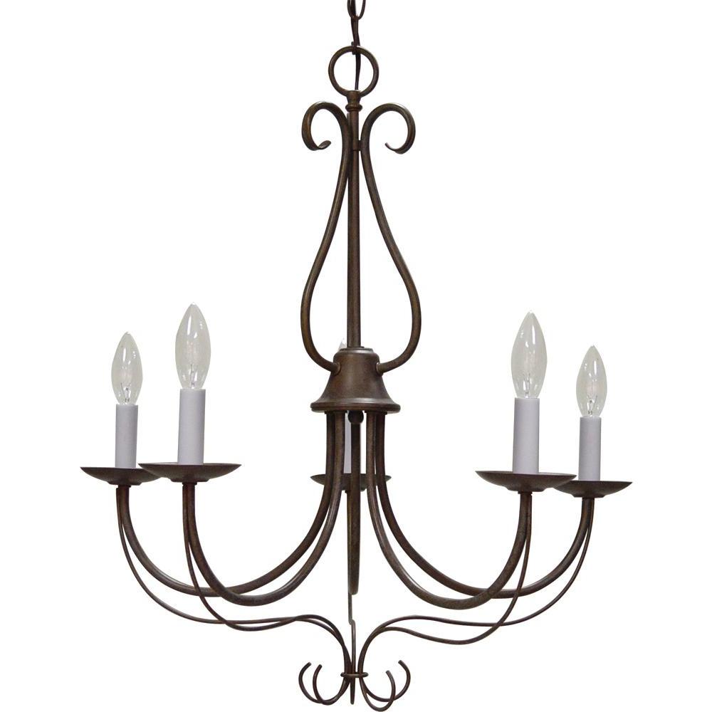 Well Known Diaz 6 Light Candle Style Chandeliers Regarding Volume Lighting Minster Indoor / Interior 5 Light Prairie Rock Candle Style  Chandelier With Candelabra (View 25 of 25)