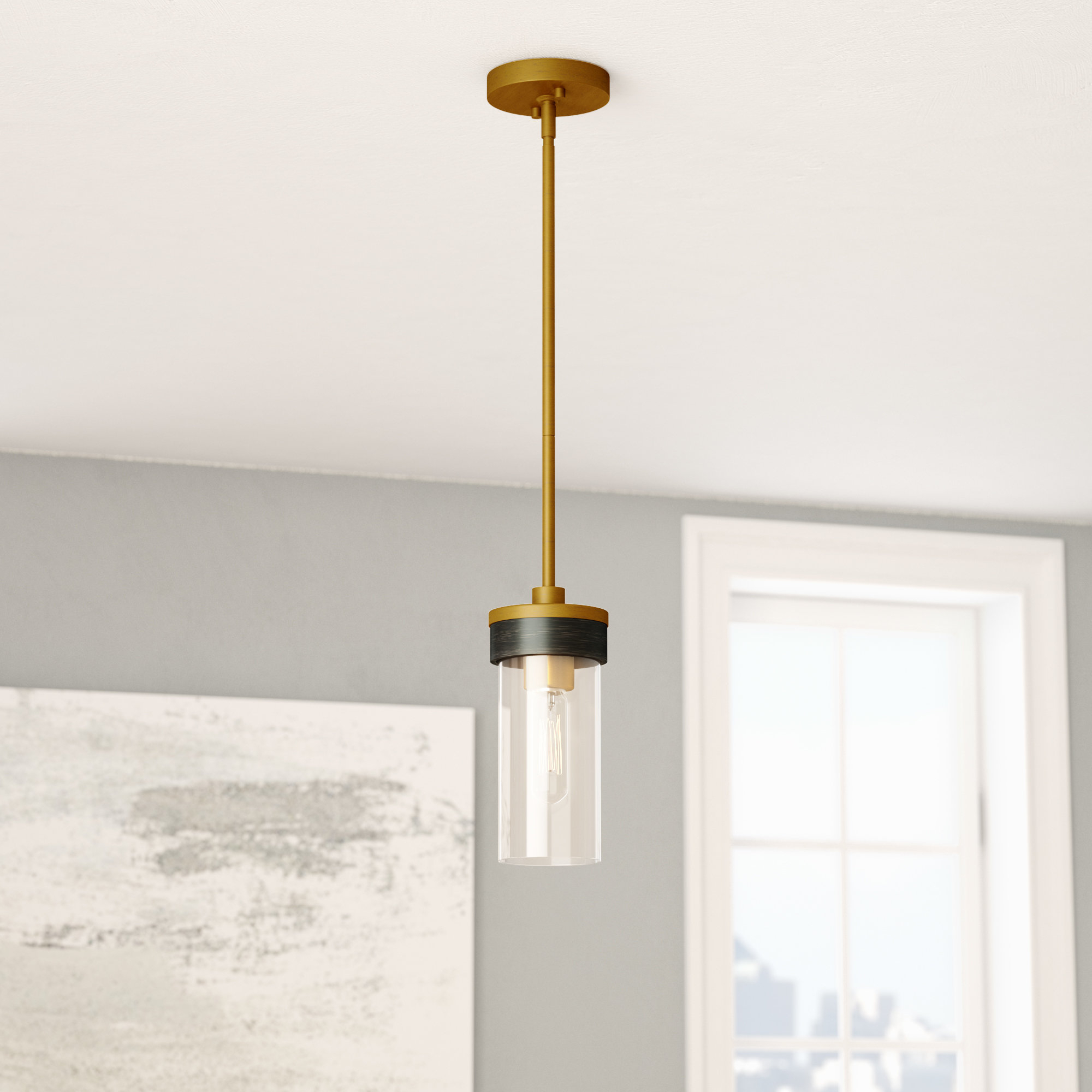 Well Known Dunigan 1 Light Single Cylinder Pendant With Angelina 1 Light Single Cylinder Pendants (View 23 of 25)