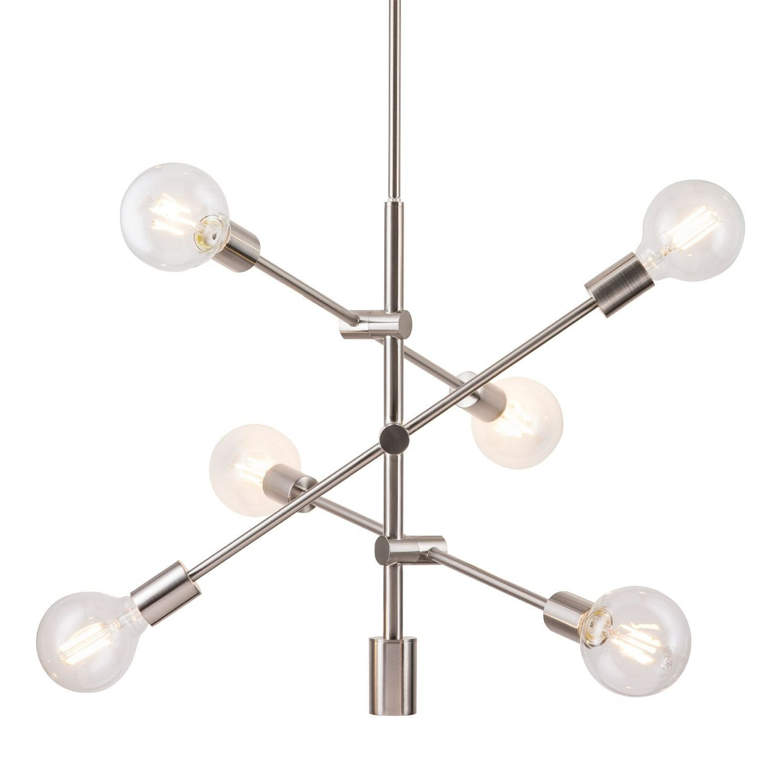 Well Known Eladia 6 Light Sputnik Chandelier With Regard To Vroman 12 Light Sputnik Chandeliers (View 12 of 25)