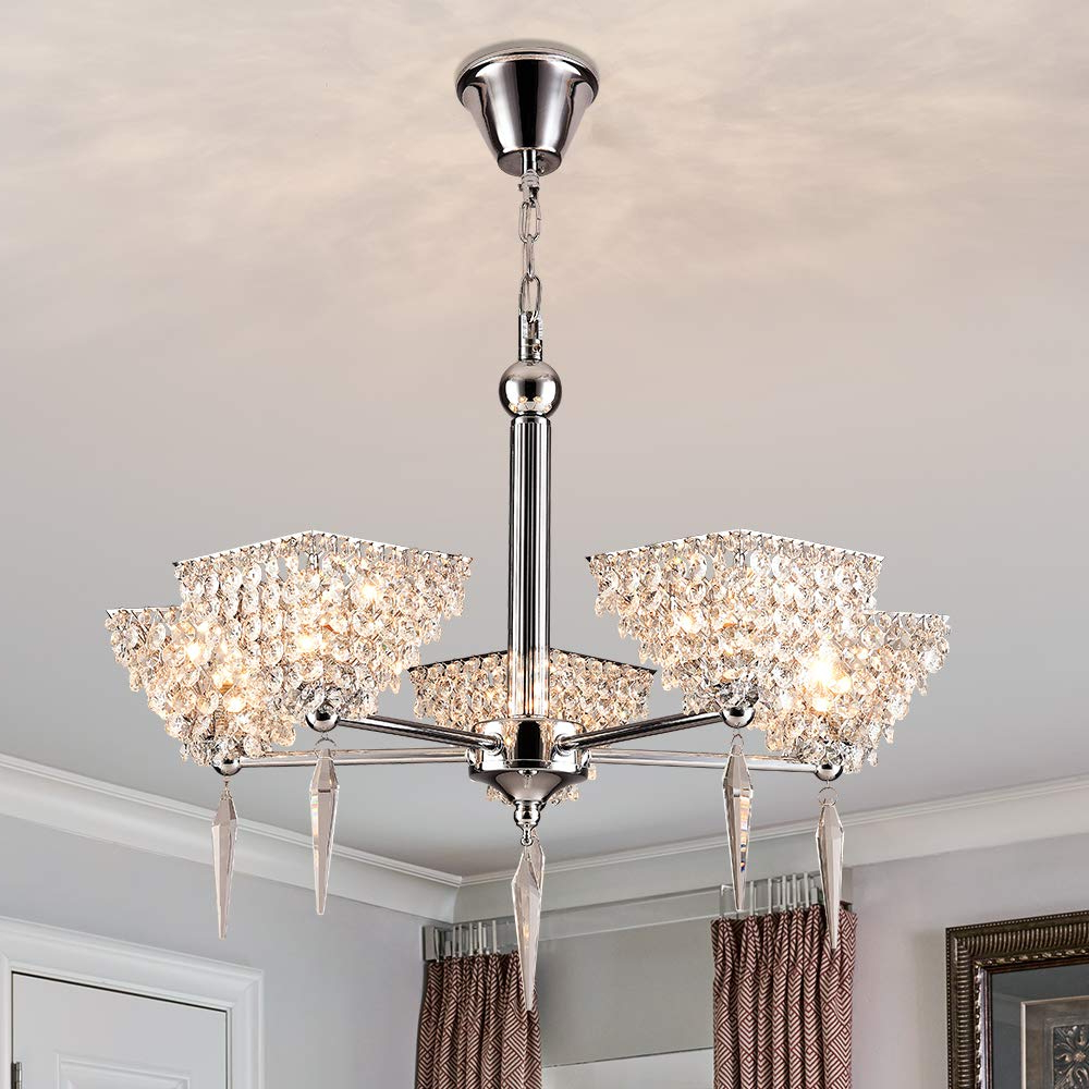 Well Known Finnick 4 Light Foyer Pendants In Ceiling : 61Uw8Muihhl  Sl1000  Foyer Ceiling Lights Lighting (View 13 of 25)