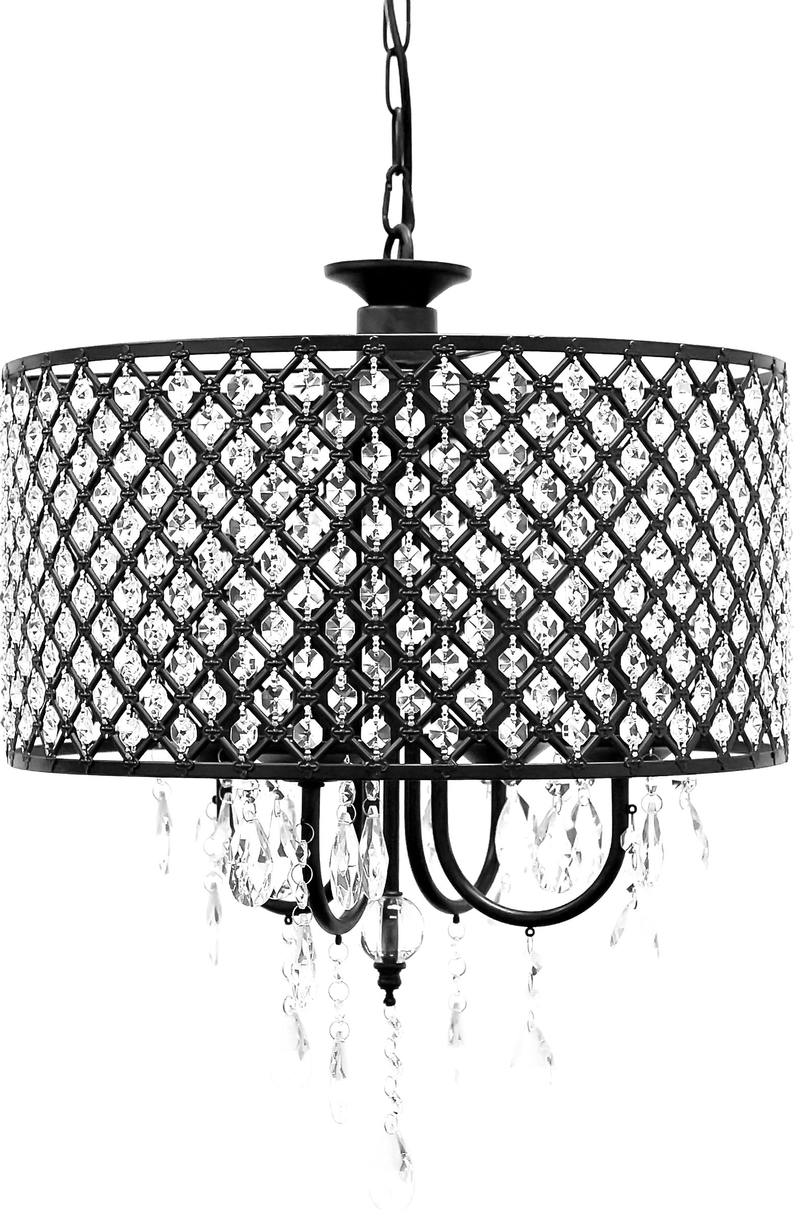 Well Known Gisselle 4 Light Drum Chandeliers For Willa Arlo Interiors Gisselle 4 Light Led Drum Chandelier (View 4 of 25)