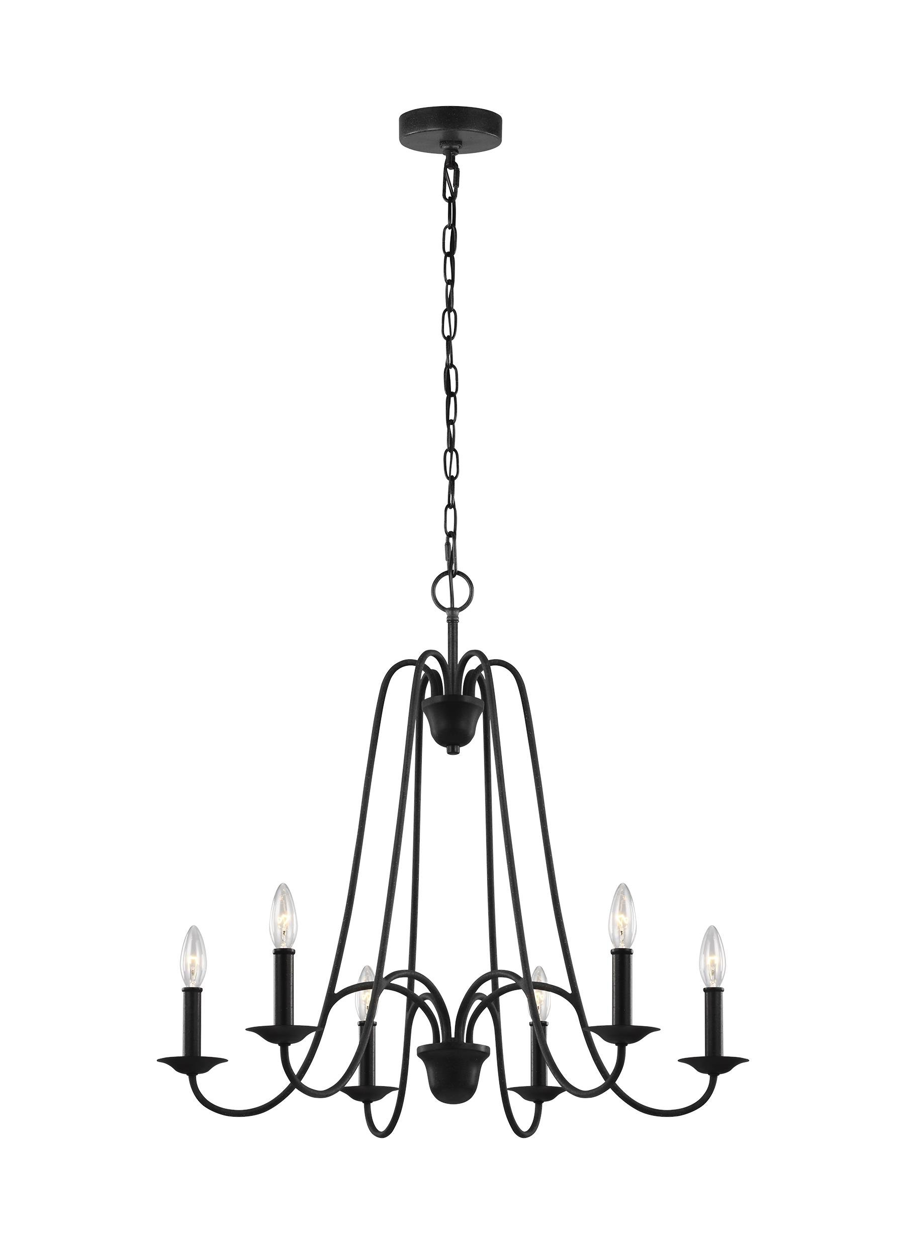 Well Known Kautz 6 Light Candle Style Chandelier In Kaycee 4 Light Geometric Chandeliers (View 22 of 25)