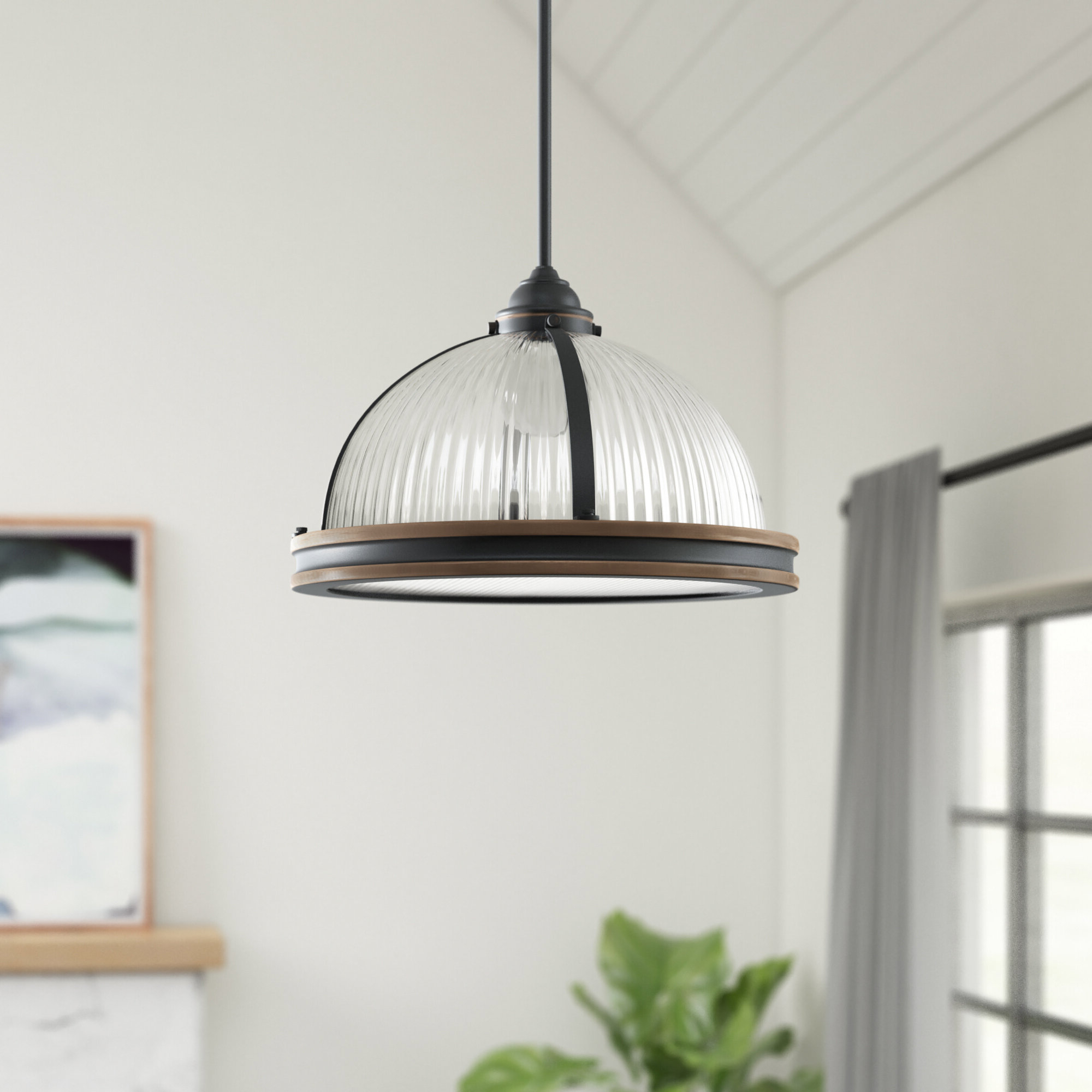 Well Known Newent 3 Light Single Bowl Pendants Throughout Granville 3 Light Single Dome Pendant (View 23 of 25)