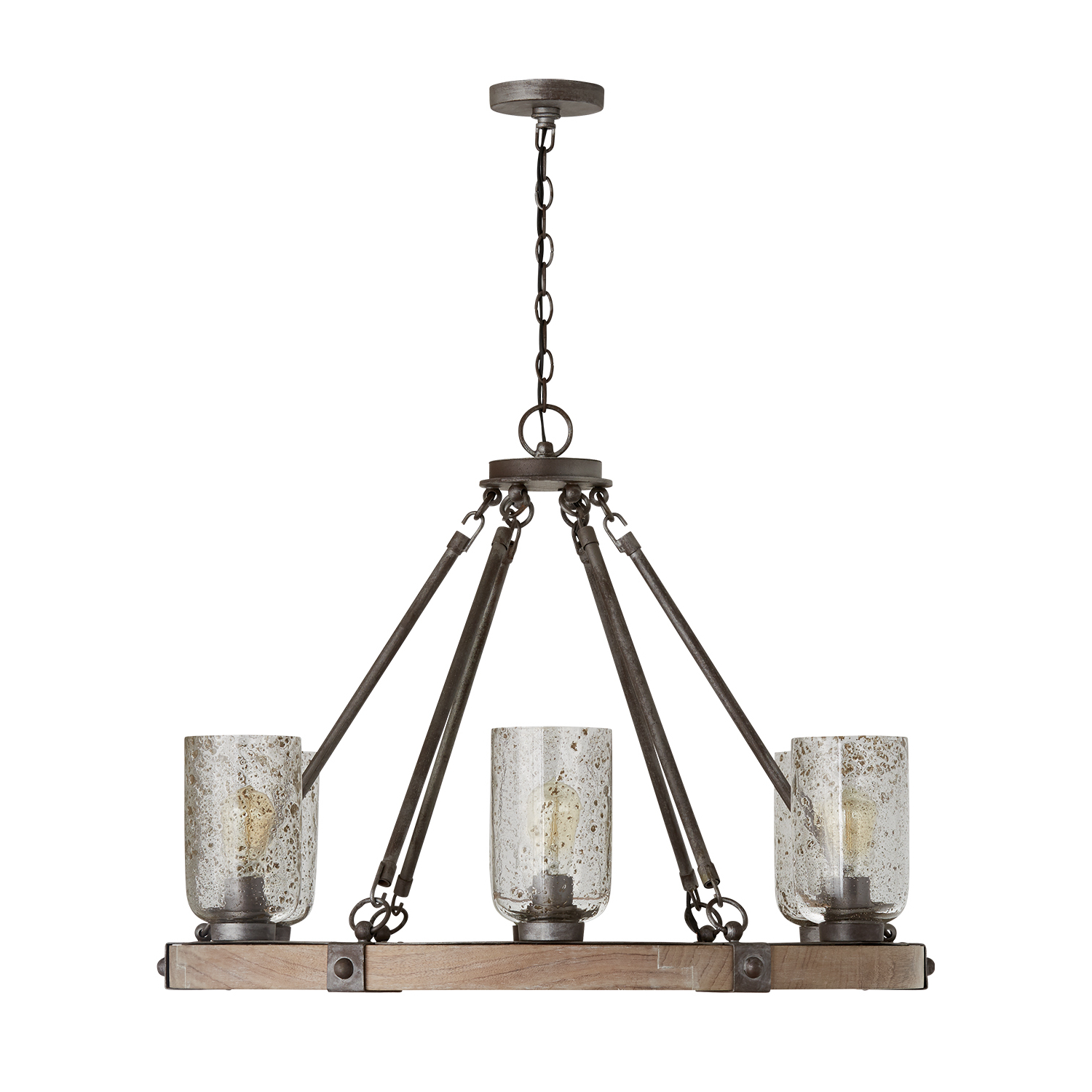 Well Known Nolan 1 Light Lantern Chandeliers Within 6 Light Chandelier (View 25 of 25)
