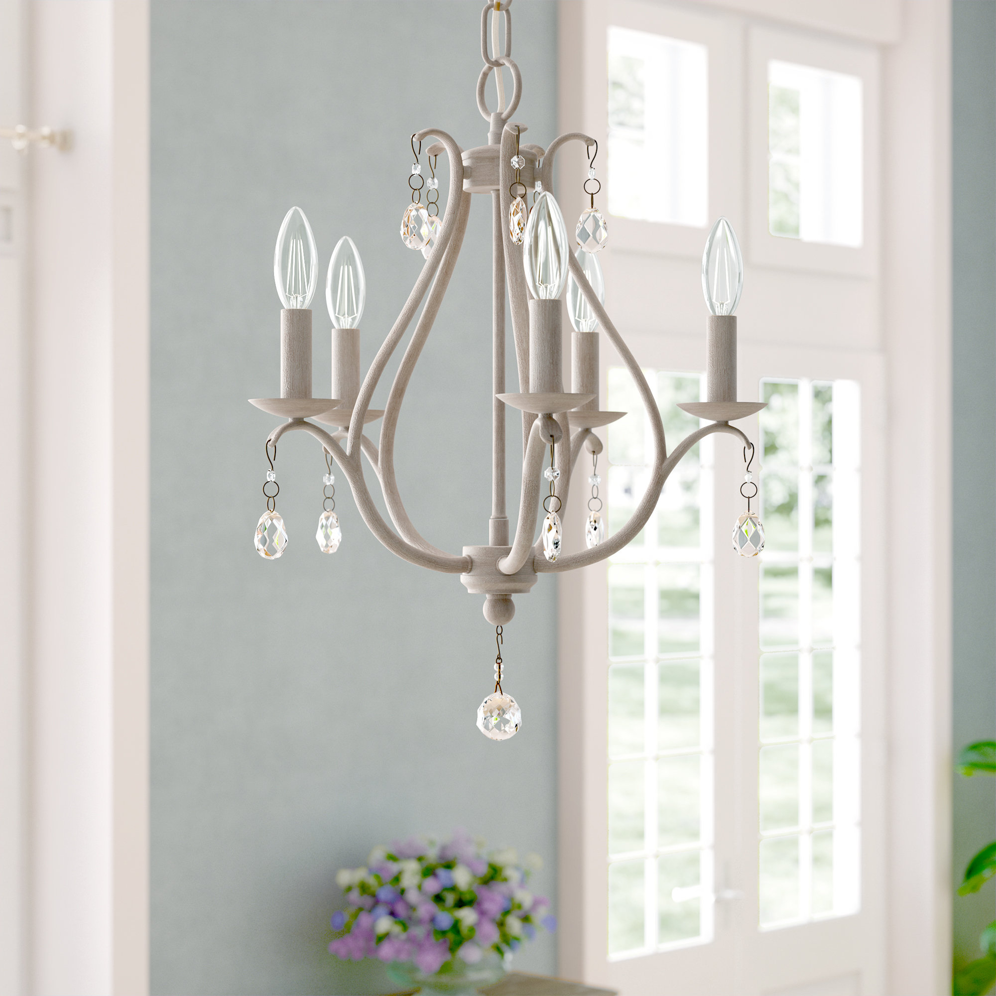 Well Known Palumbo 5 Light Candle Style Chandelier With Florentina 5 Light Candle Style Chandeliers (View 15 of 25)