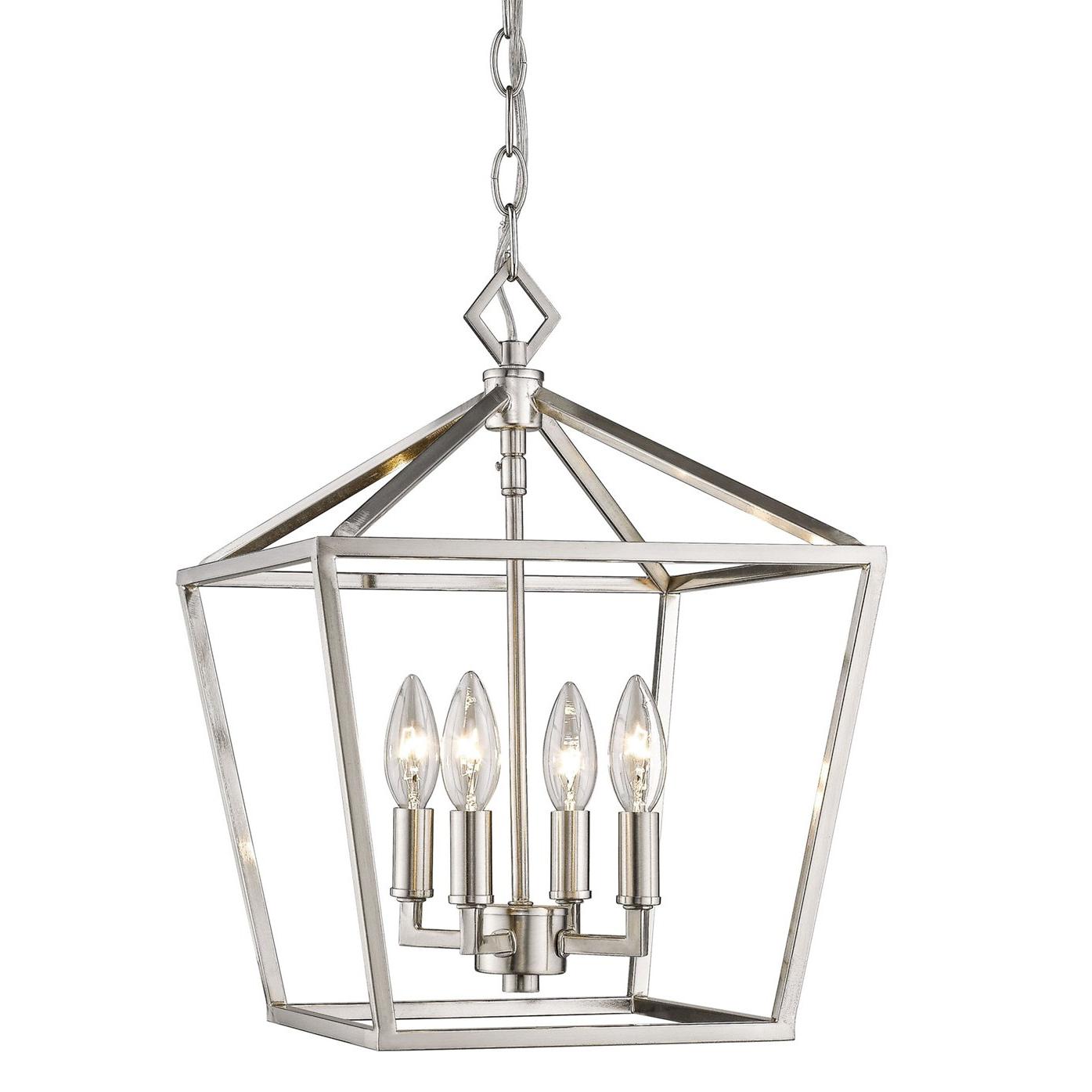 Well Known Poisson 4 Light Lantern Pendant For Varnum 4 Light Lantern Pendants (View 23 of 25)