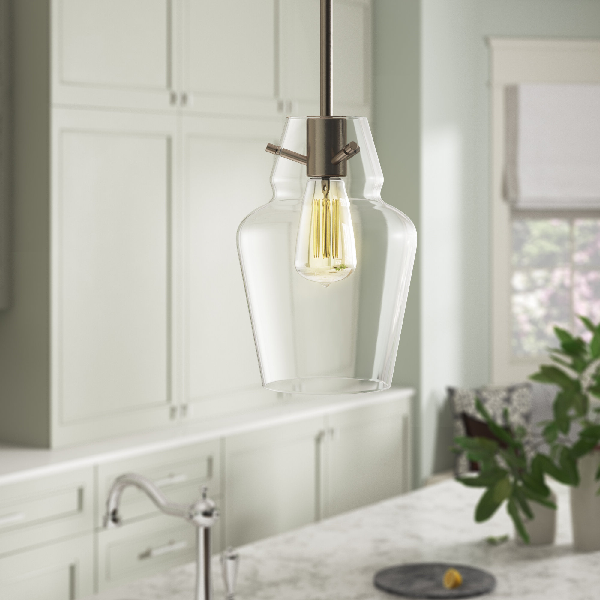 Well Known Roslindale 1 Light Single Bell Pendants Regarding Roslindale 1 Light Single Bell Pendant (View 16 of 25)