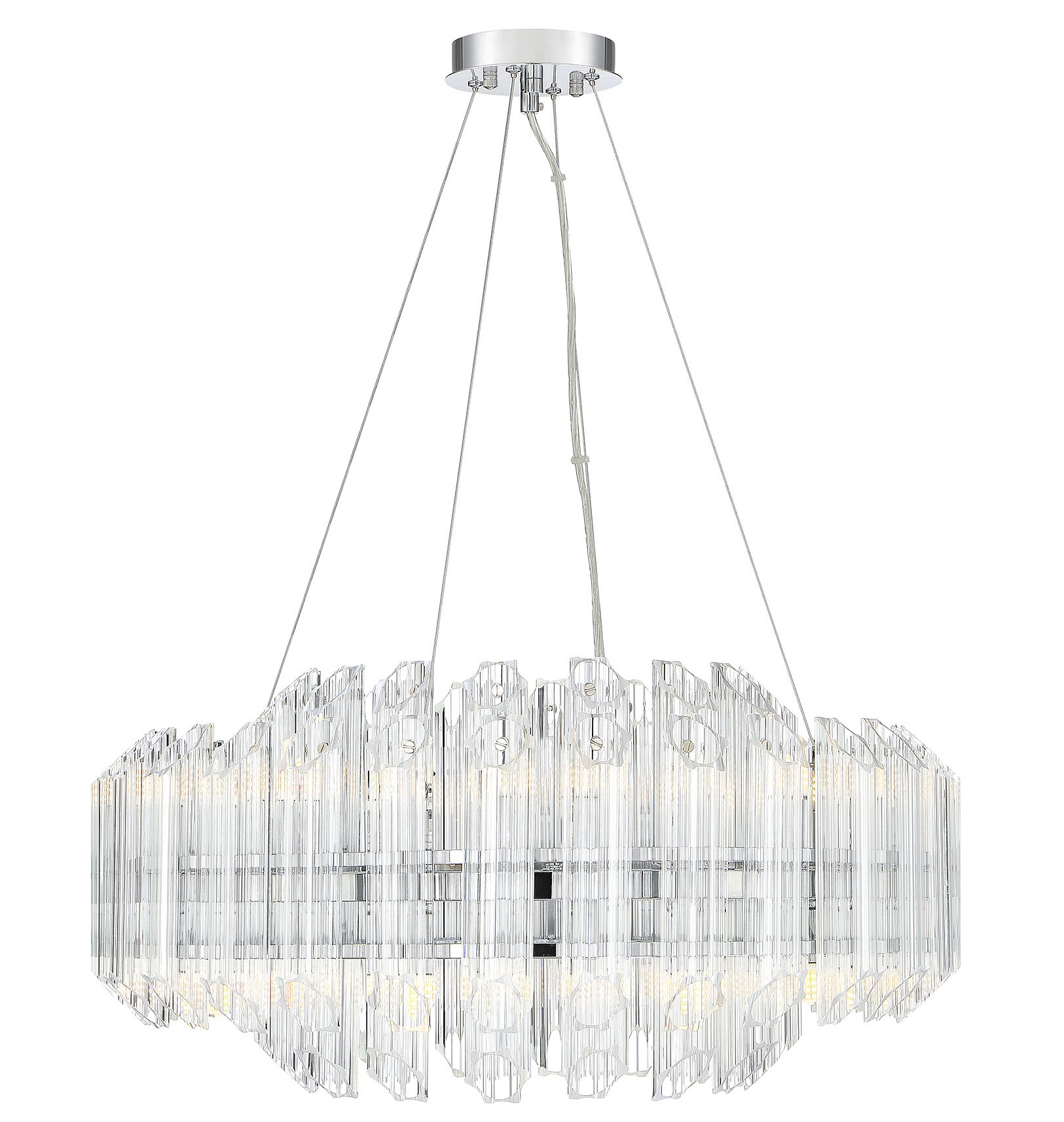 Well Known Seymour 16 Light Crystal Chandelier With Regard To Benedetto 5 Light Crystal Chandeliers (View 6 of 25)