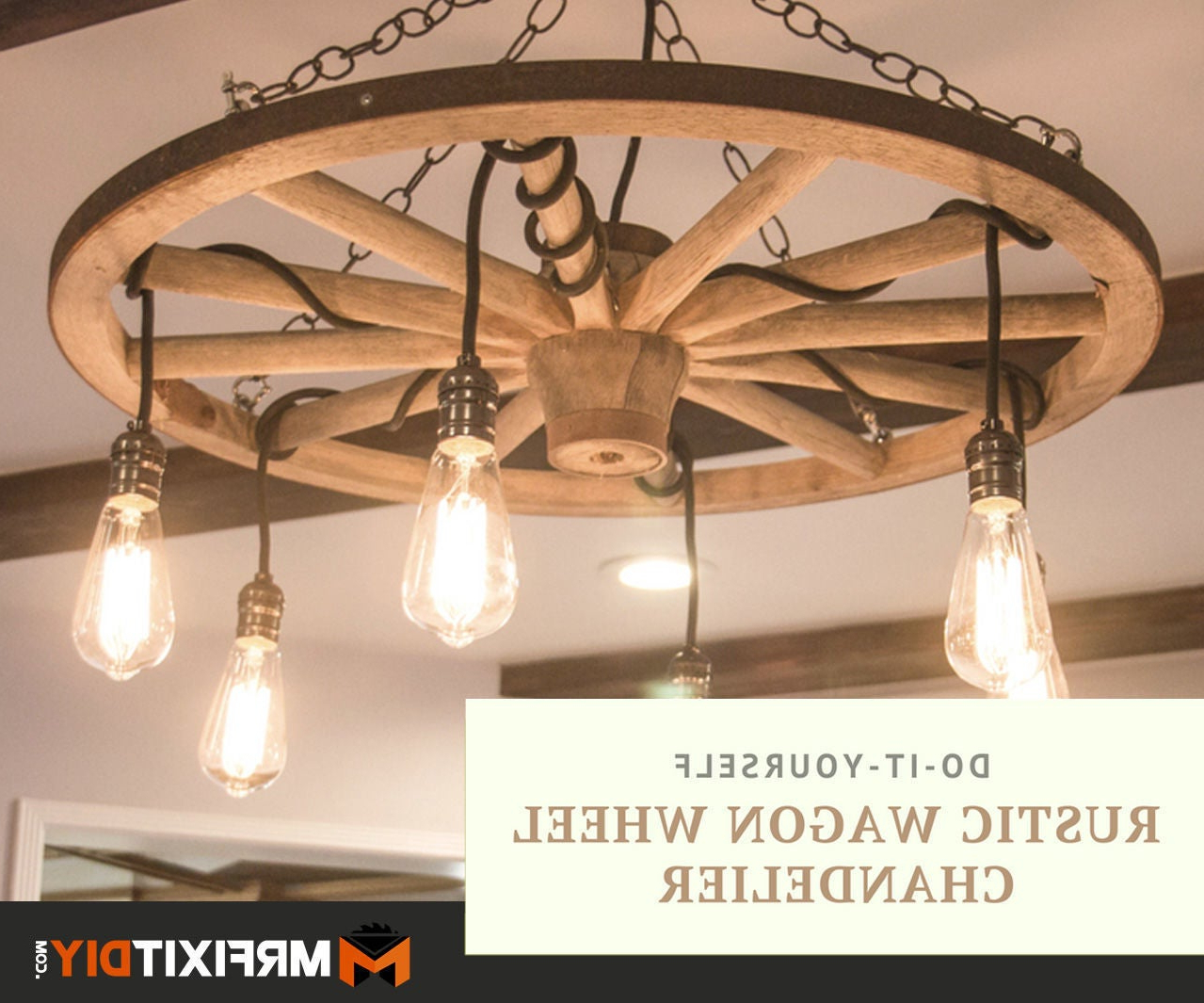 Well Known Shayla 12 Light Wagon Wheel Chandeliers Regarding Wagon Wheel Chandelier Beautiful Home Decoration (View 17 of 25)