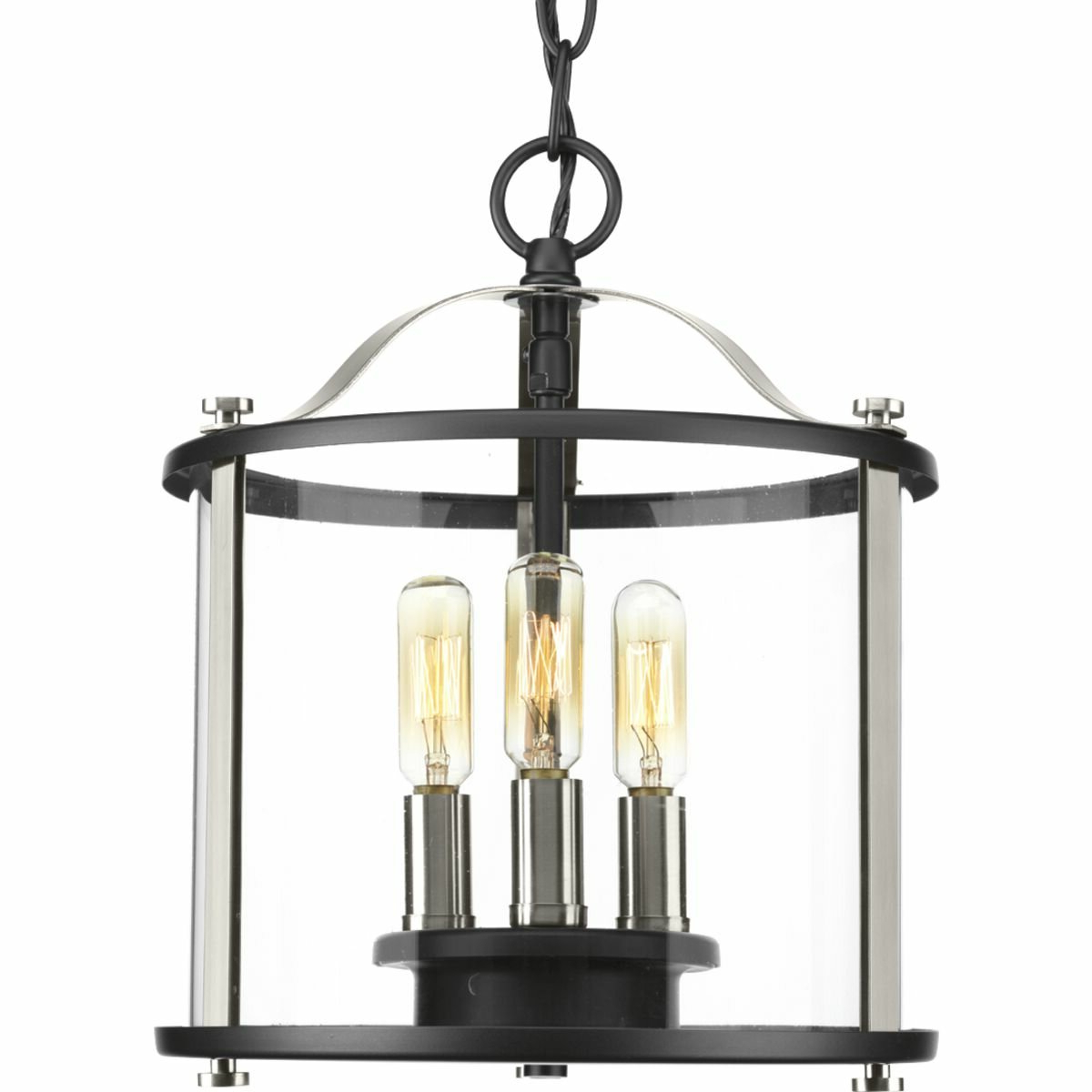 Well Known Sherri Ann 3 Light Lantern Square / Rectangle Pendants In Evgenia 3 Light Semi Flush Mount (View 18 of 25)