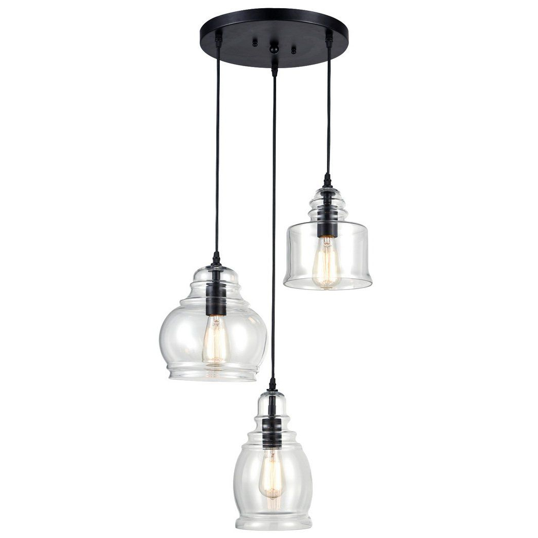 Well Known Vernice 3 Light Cluster Bell Pendants Regarding Pinterest – Пинтерест (View 24 of 25)