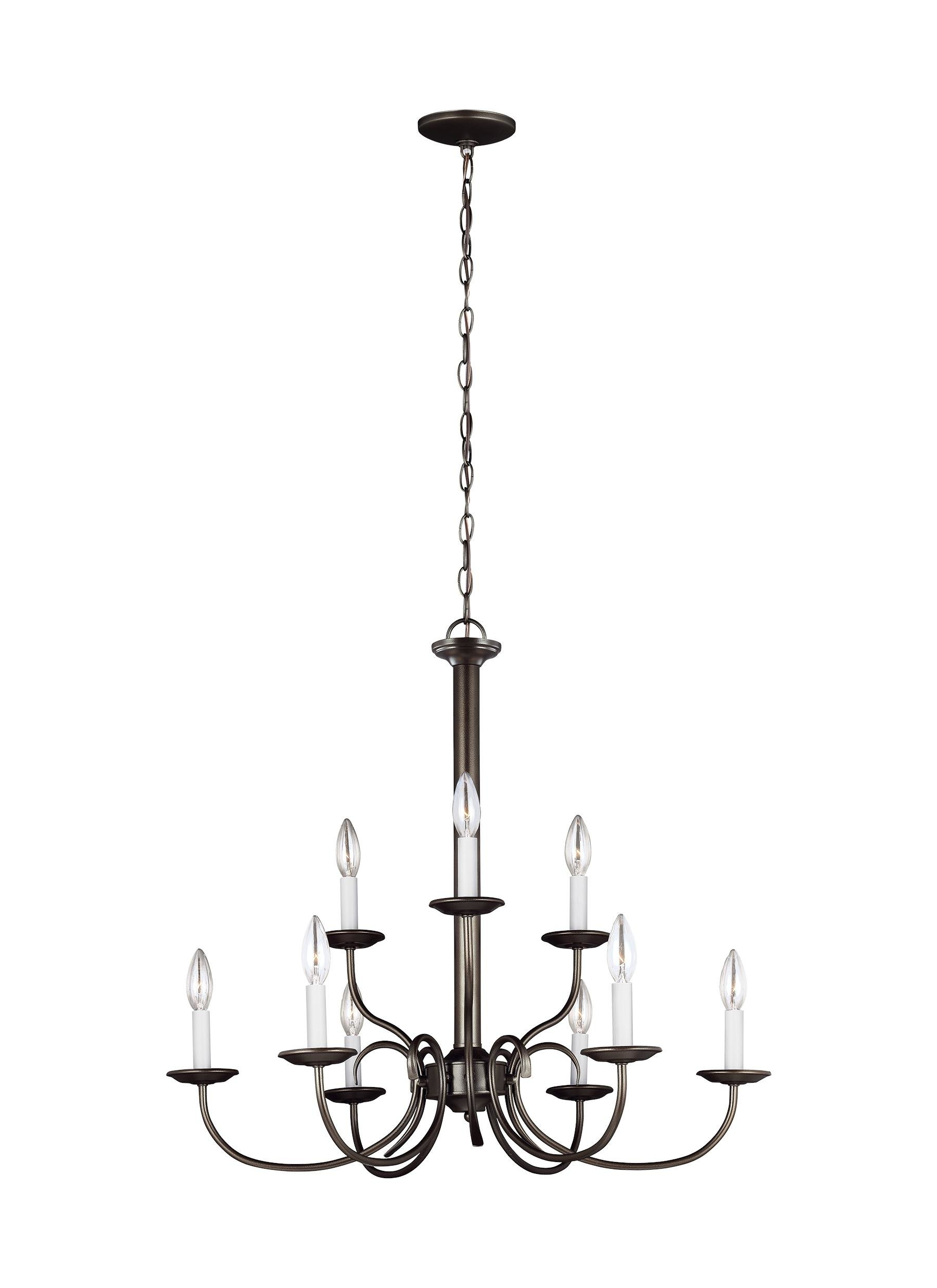 Well Known Watford 9 Light Candle Style Chandeliers Inside Birch Lane™ Heritage Robbins 9 Light Chandelier (View 21 of 25)