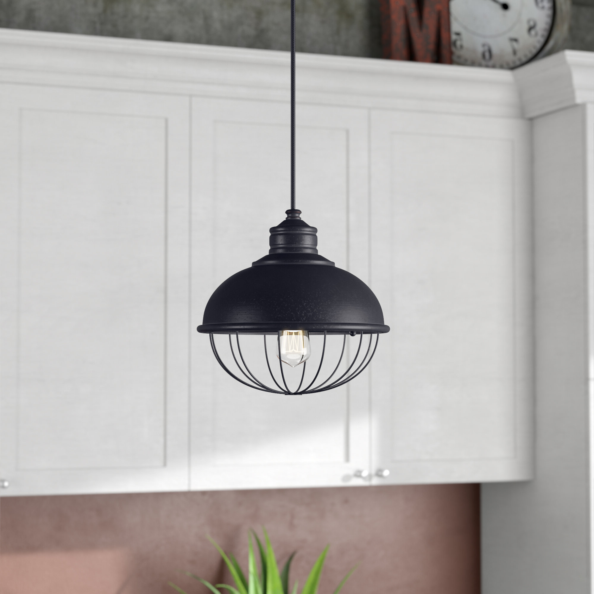 Well Known Williston Forge Abordale 1 Light Dome Pendant Regarding Abordale 1 Light Single Dome Pendants (View 24 of 25)