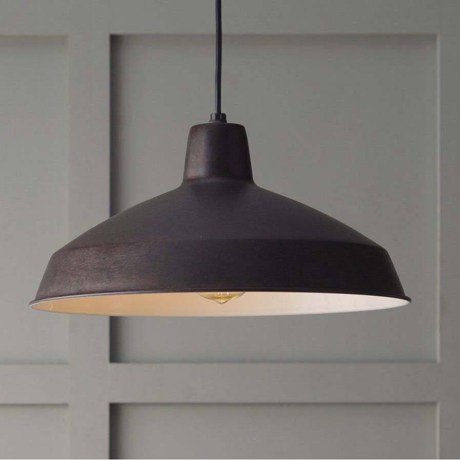 Well Known Woodsen 1 Light Inverted Pendant (View 12 of 25)