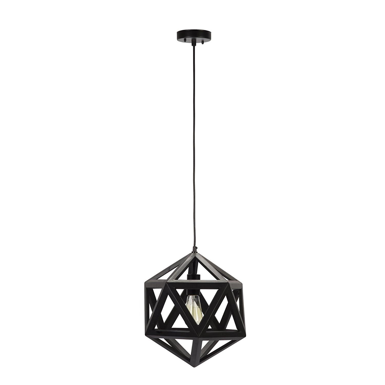 Well Liked 1 Light Geometric Globe Pendants Pertaining To Globe Electric Quot Light Geometric Pendant, Dark Bronze (View 19 of 25)