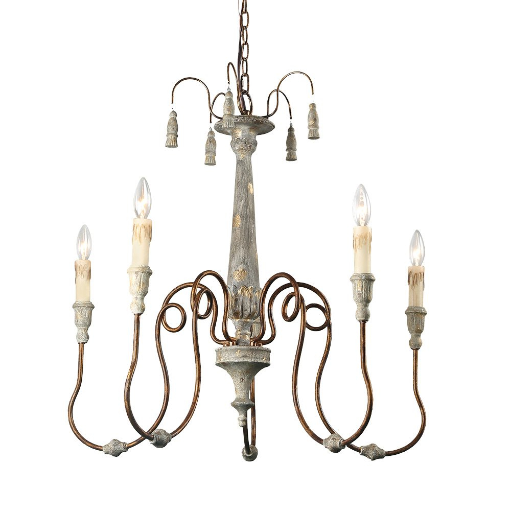 Well Liked Armande Candle Style Chandeliers For 24 French Country Chandeliers: Save Or Splurge? – Hello Lovely (View 21 of 25)