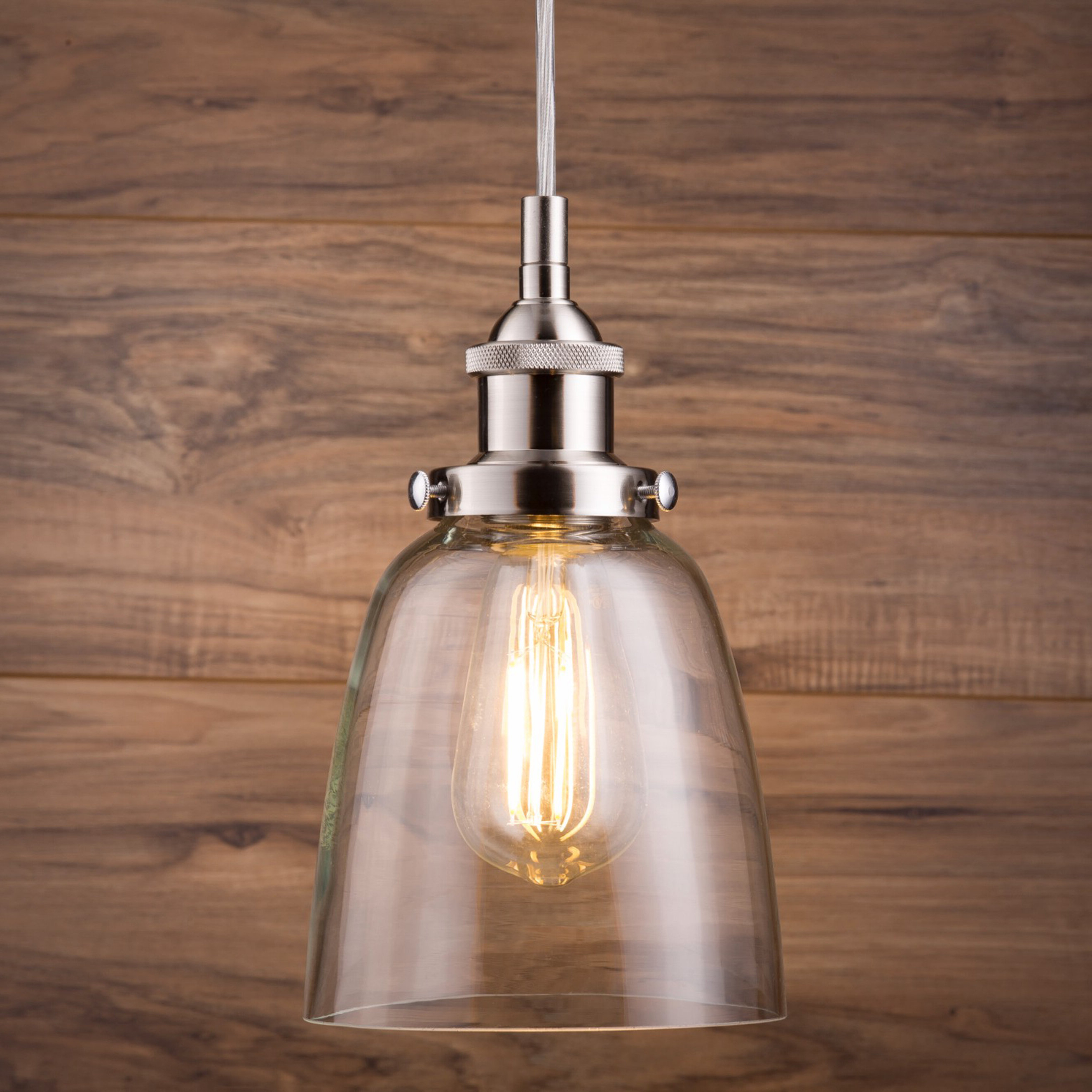 Well Liked Bundaberg 1 Light Single Bell Pendant Intended For Scruggs 1 Light Geometric Pendants (View 15 of 25)