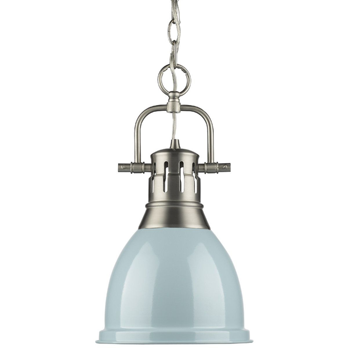 Well Liked Classic Dome Shade Pendant Light With Chain – Small (View 12 of 25)