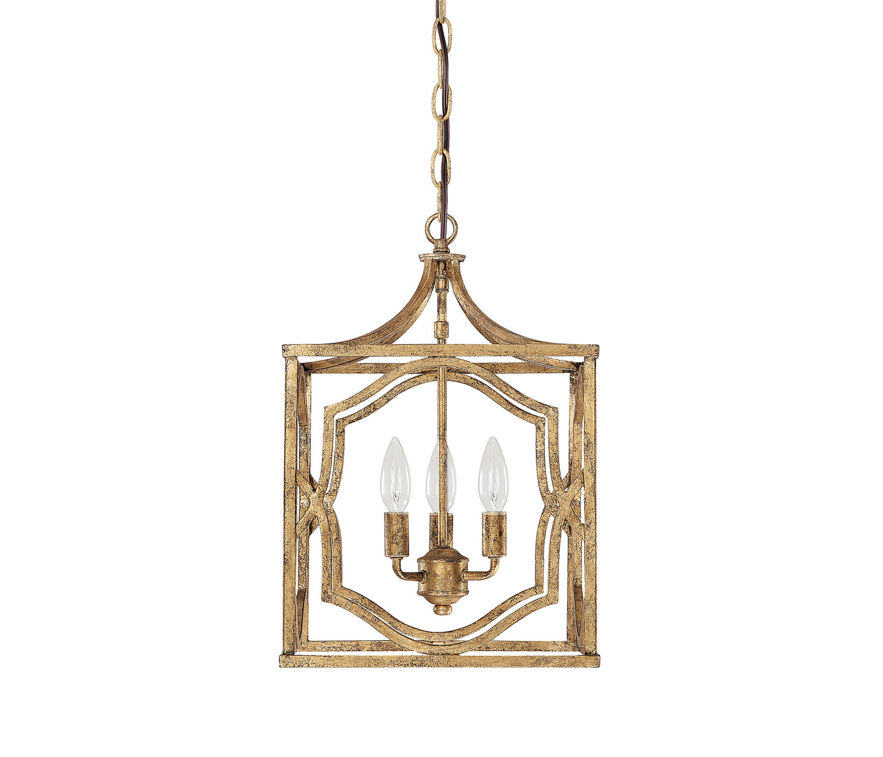 Well Liked Destrey 3 Light Lantern Square/rectangle Pendant & Reviews In Armande 3 Light Lantern Geometric Pendants (View 9 of 25)