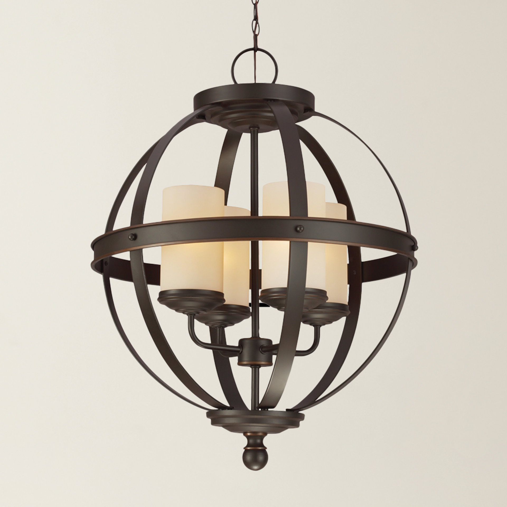Well Liked Donna 6 Light Globe Chandeliers In Donna 4 Light Globe Chandelier (View 10 of 25)