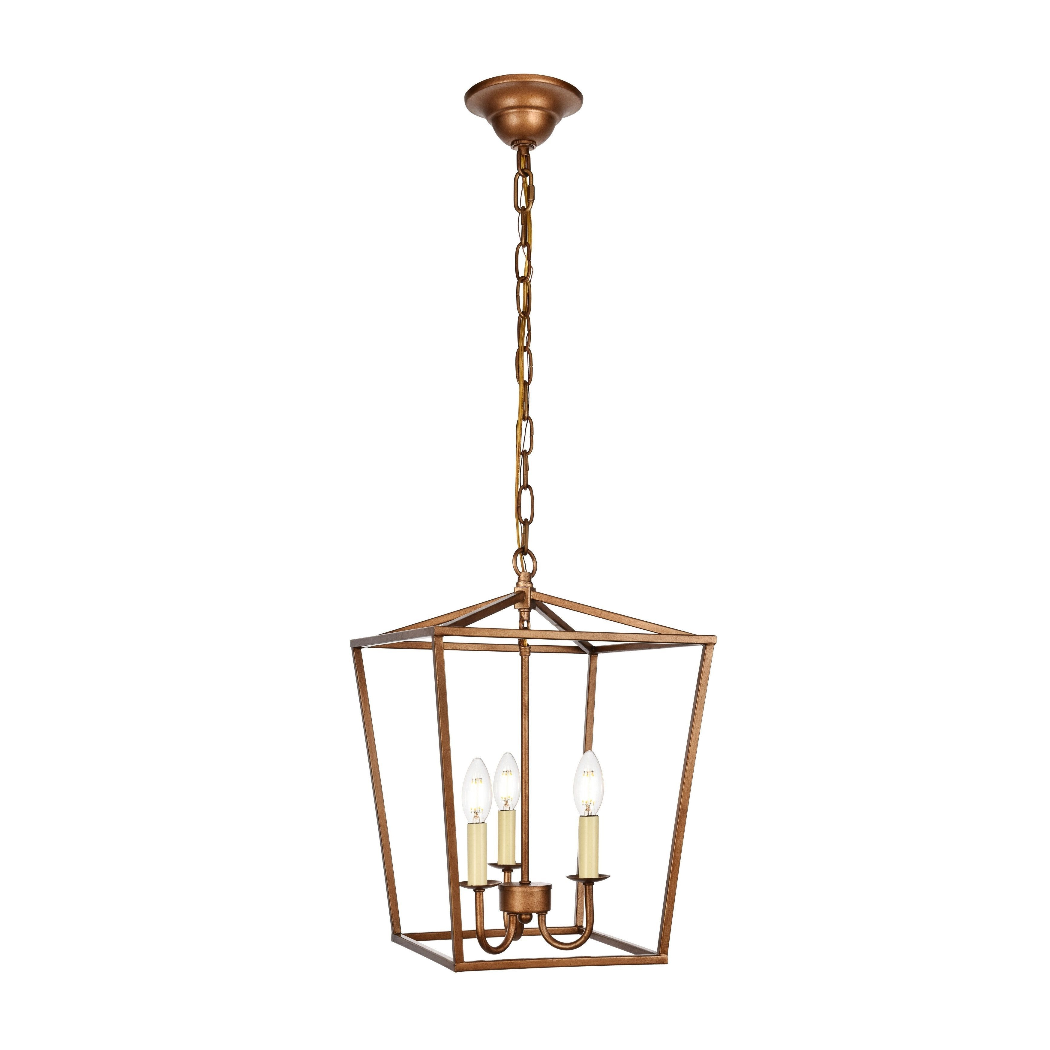 Well Liked Finnick 3 Light Lantern Pendants Throughout Maddox Collection Pendant D12.5 H (View 21 of 25)