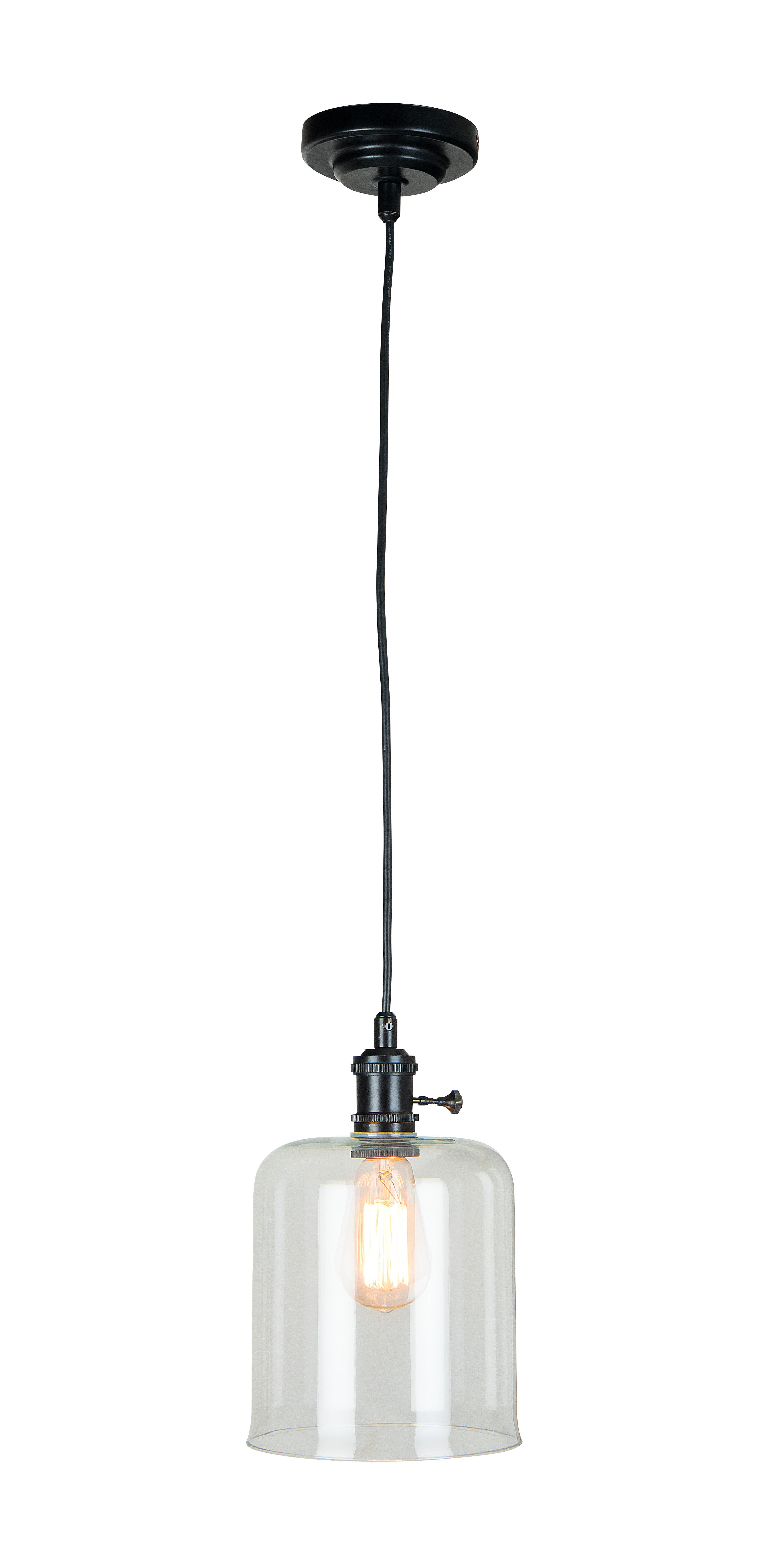Well Liked Jayce 1 Light Cylinder Pendants In Kirkwood 1 Light Cylinder Pendant (View 5 of 25)