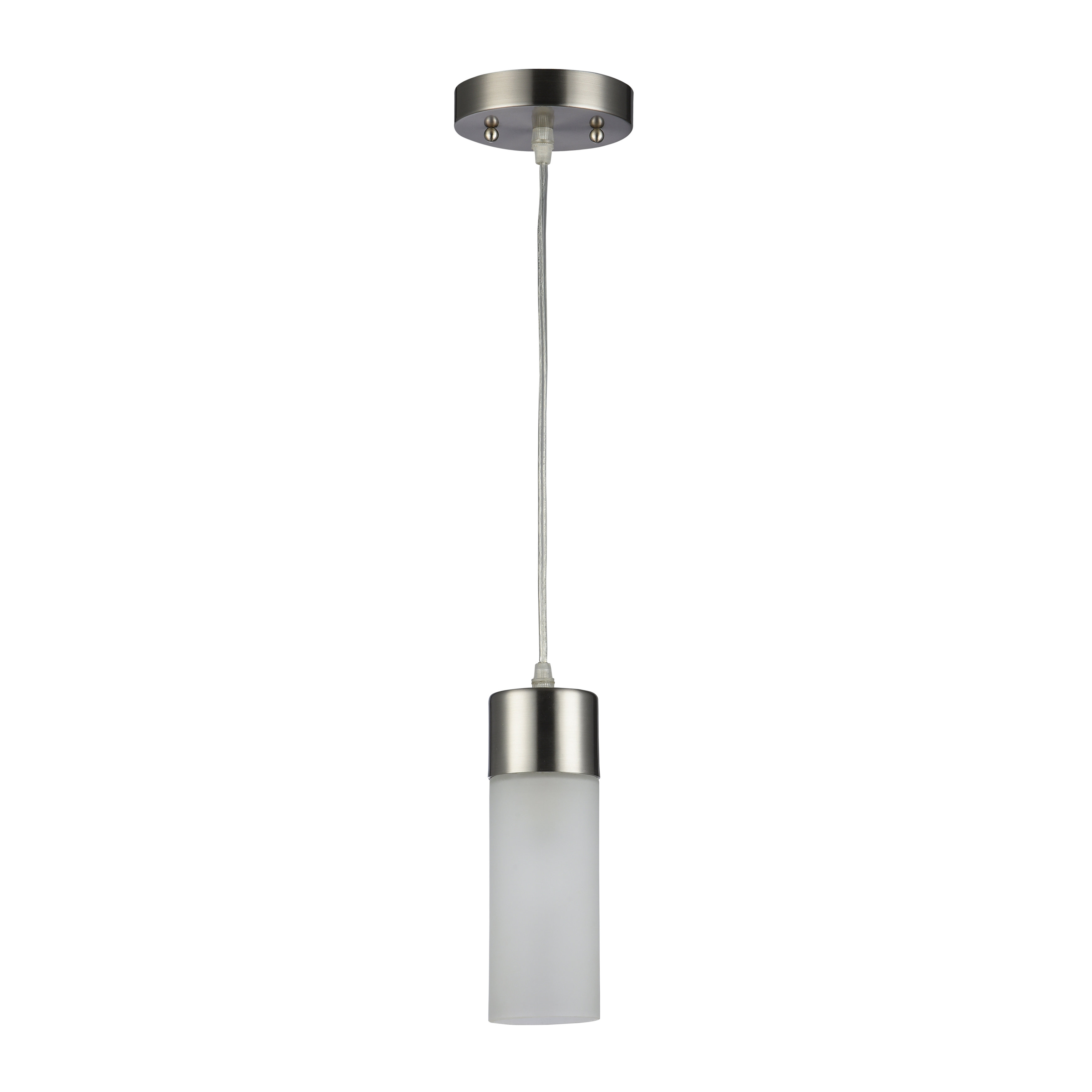 Well Liked Jayce 1 Light Cylinder Pendants Within Sanni 1 Light Cylinder Pendant (View 21 of 25)