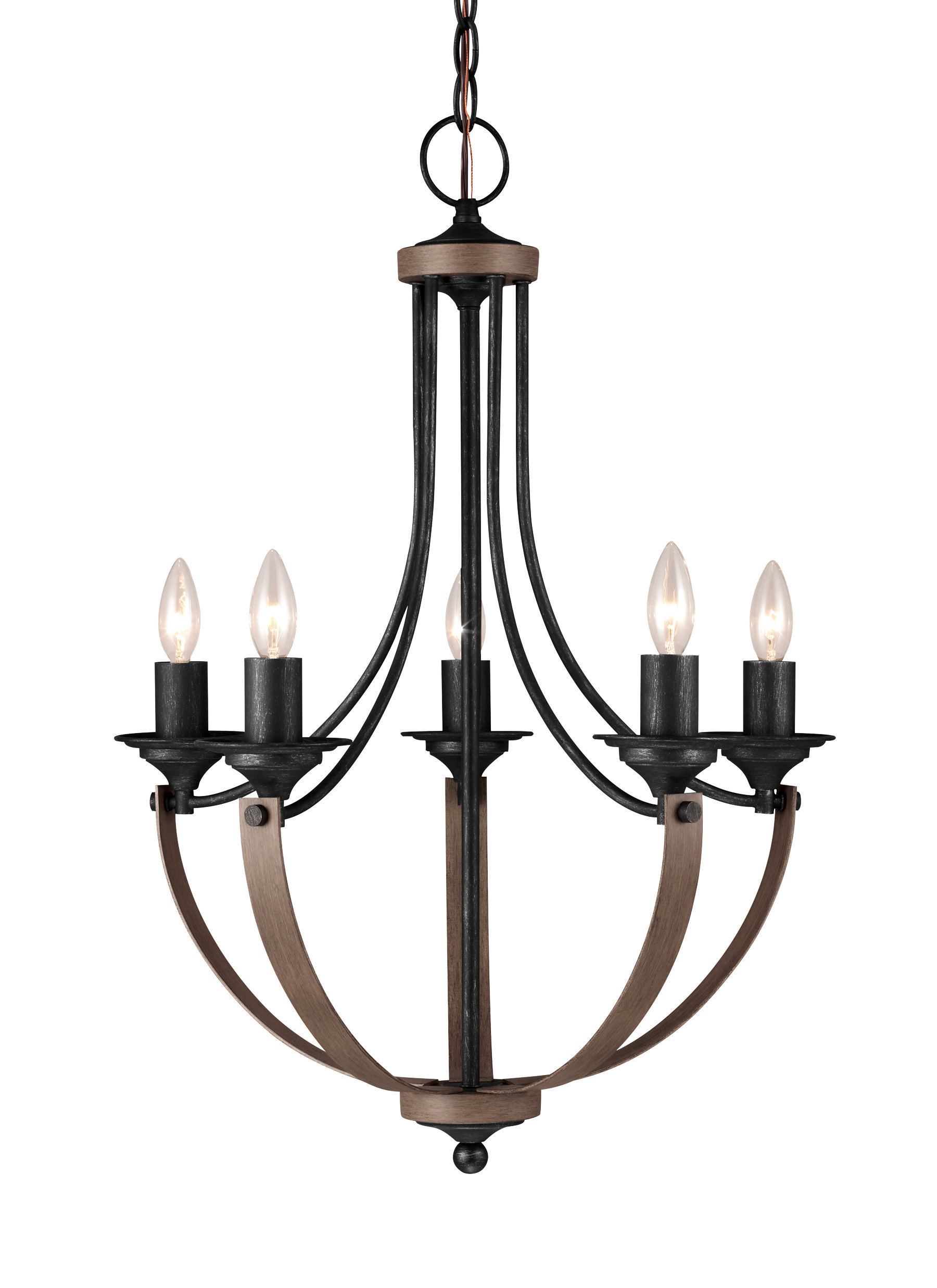 Featured Photo of Kenna 5 Light Empire Chandeliers