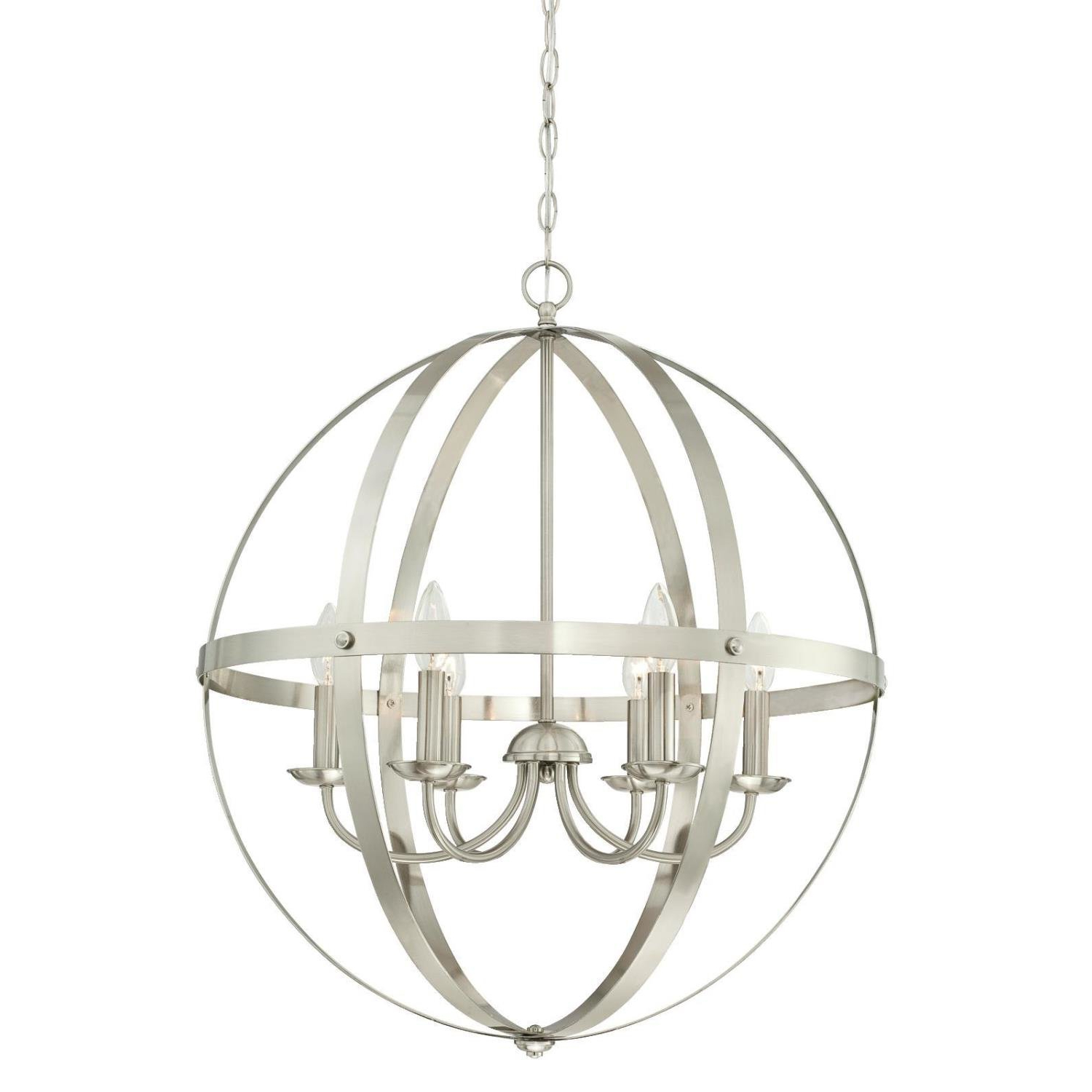 Well Liked Shipststour 3 Light Globe Chandeliers With Joon 6 Light Globe Chandelier (View 21 of 25)