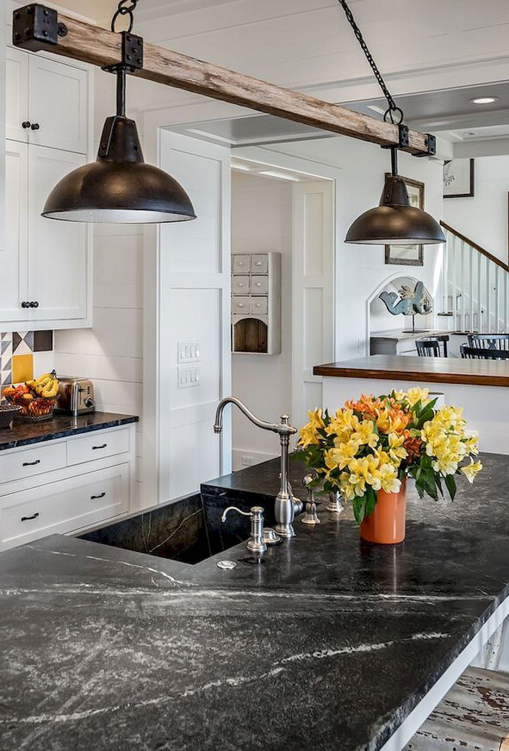 Well Liked Something Like This To Move Light Over But Not Rewire Inside Schutt 4 Light Kitchen Island Pendants (View 9 of 25)
