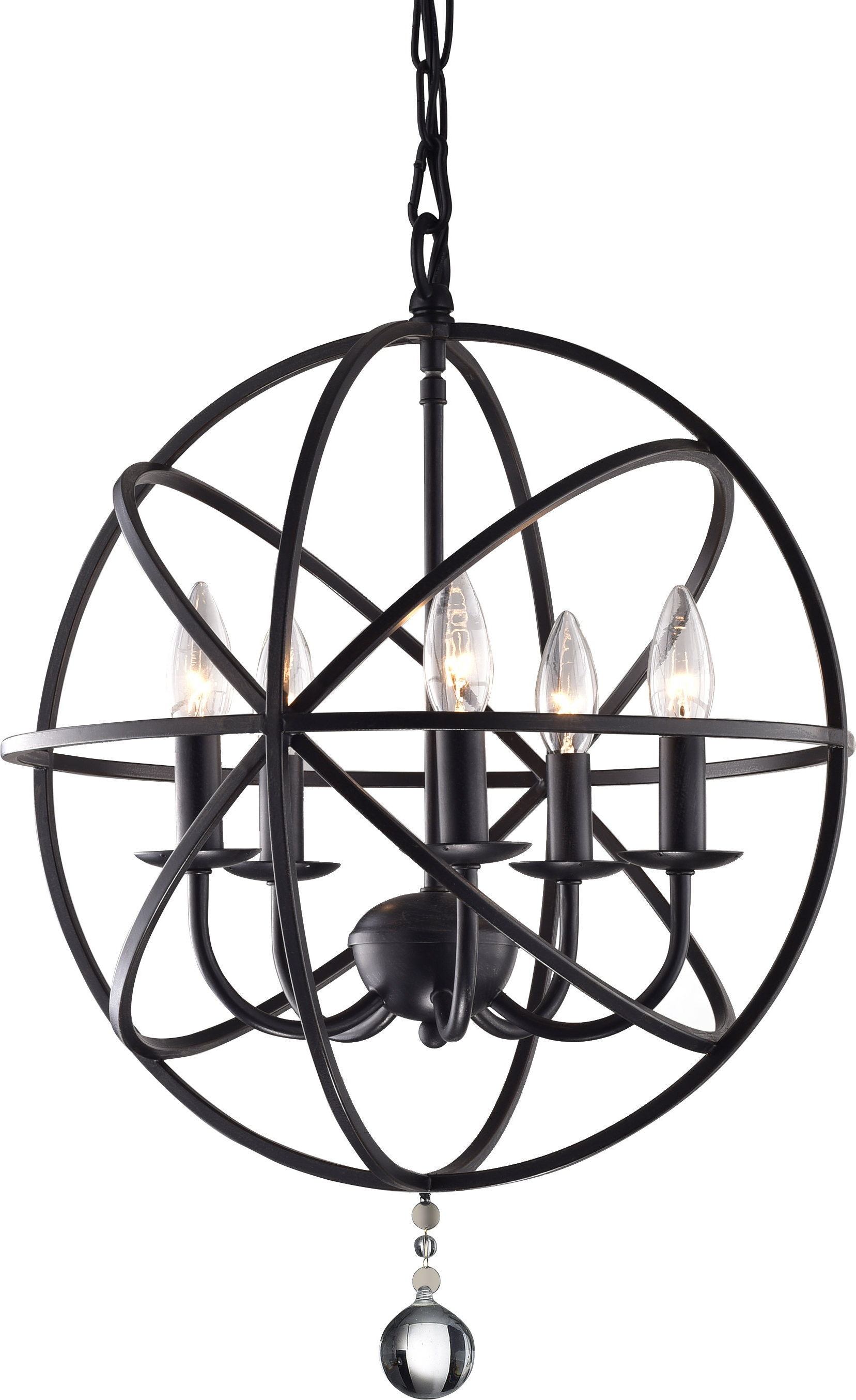 Widely Used Albano Foyer 5 Light Globe Chandelier Pertaining To Verlene Foyer 5 Light Globe Chandeliers (View 25 of 25)
