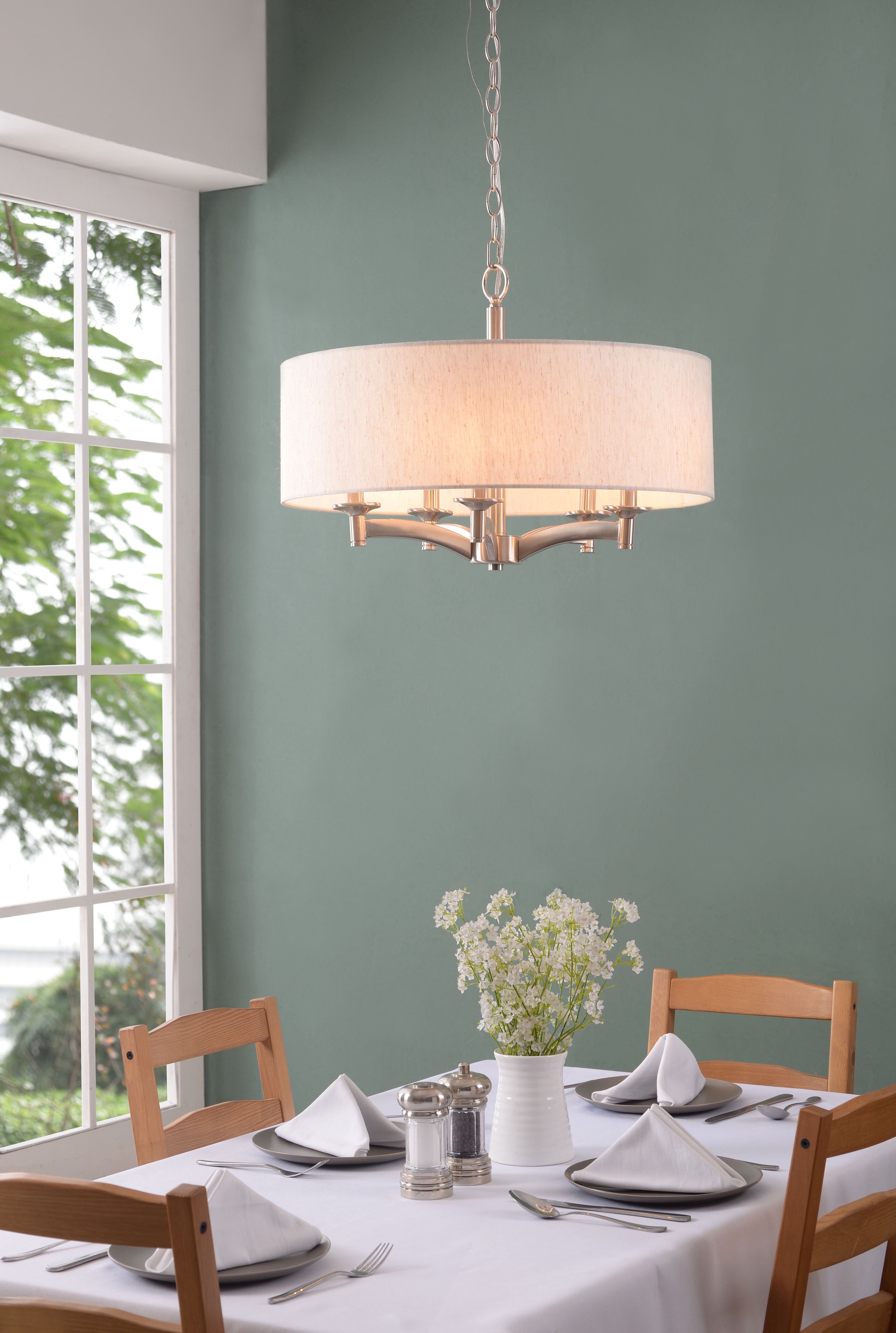 Widely Used Burton 5 Light Drum Chandeliers Regarding Harlan 5 Light Drum Chandelier (View 22 of 25)