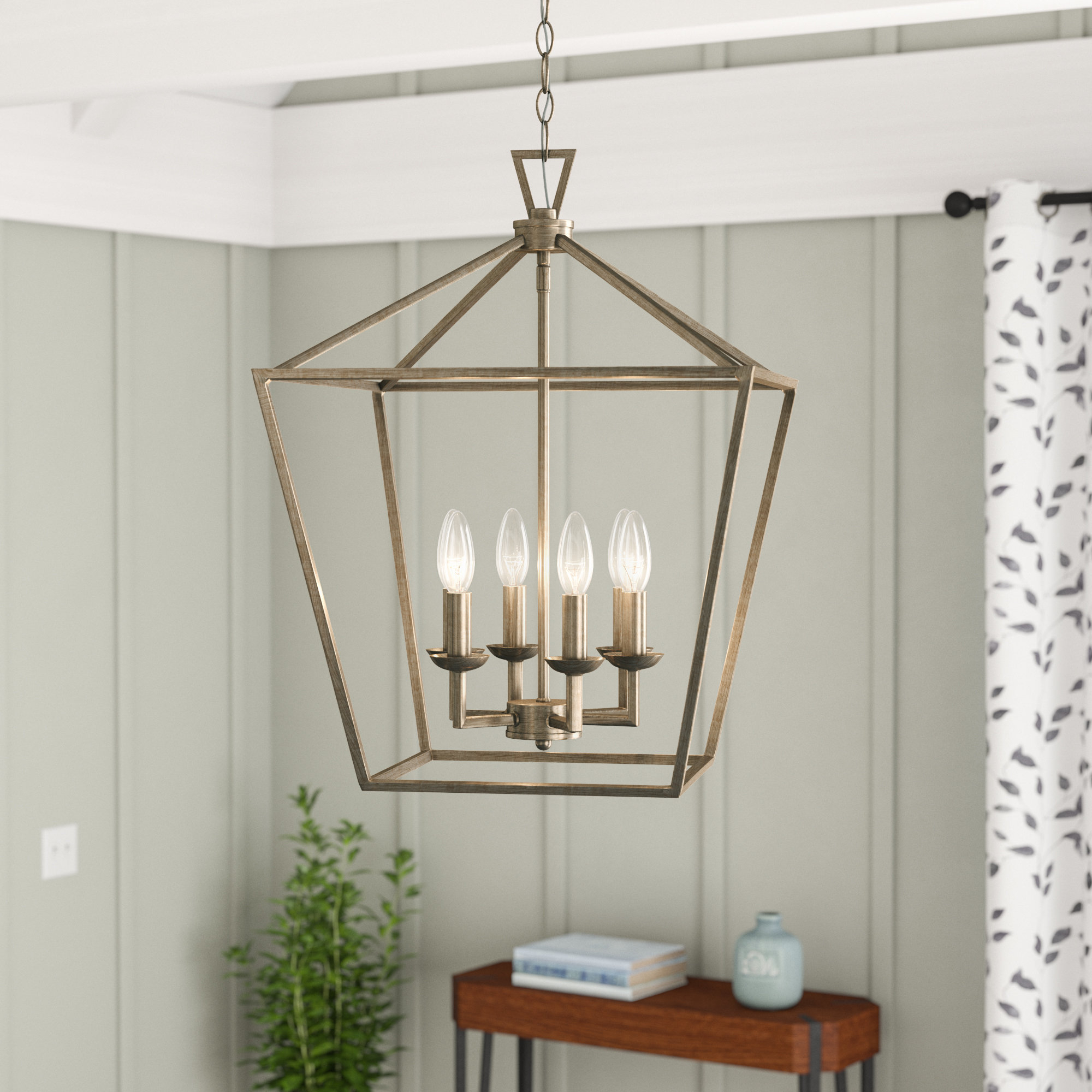 Widely Used Carmen 4 Light Lantern Geometric Pendants With Carmen 6 Light Lantern Geometric Pendant (View 9 of 25)