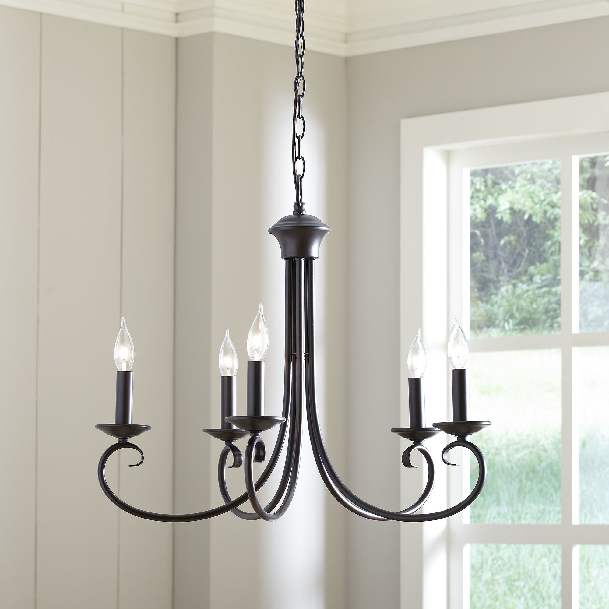 Widely Used Edgell 5 Light Candle Style Chandelier For Shaylee 5 Light Candle Style Chandeliers (View 11 of 25)