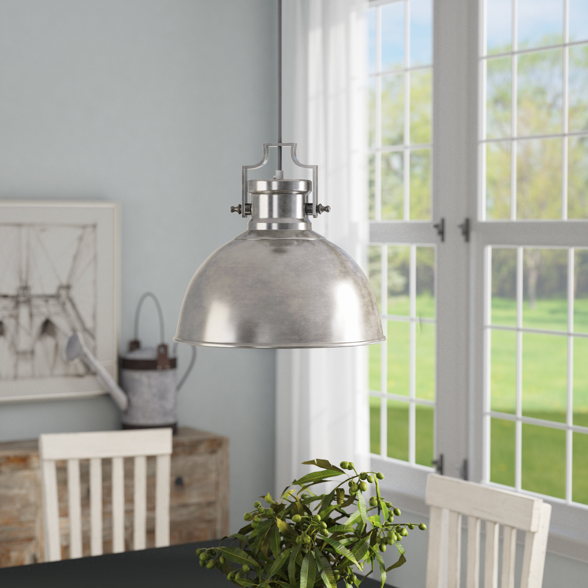 Widely Used Gattis 1 Light Dome Pendants With Shaeffer 1 Light Dome Pendant (View 25 of 25)