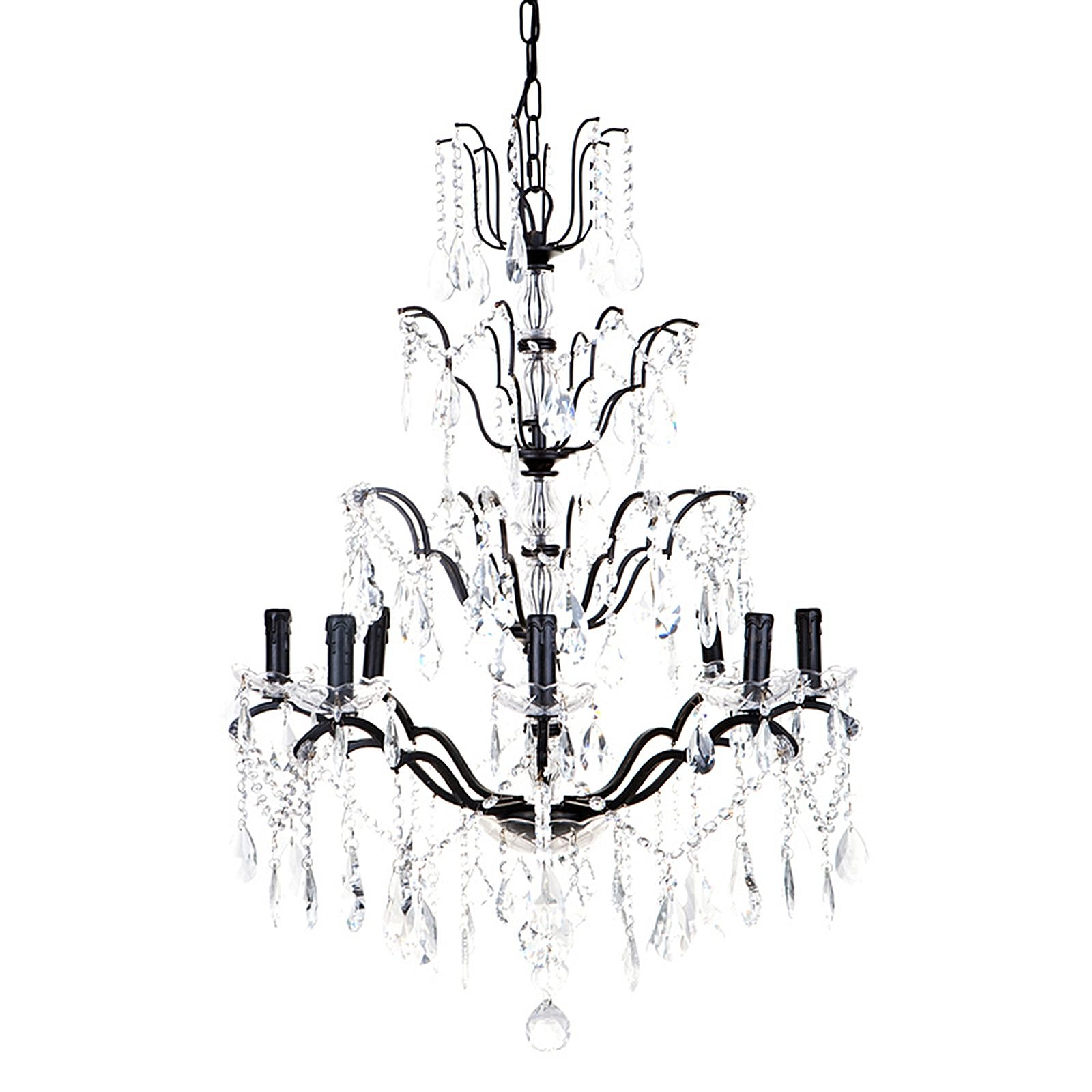 Widely Used Lyon 3 Light Unique / Statement Chandeliers For Lyon 8 Arm Chandelier (View 23 of 25)