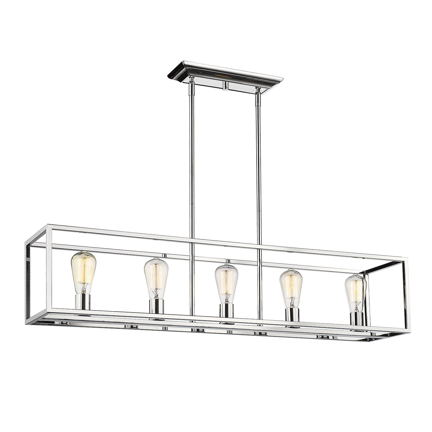 Widely Used Mizer 5 Light Kitchen Island Linear Pendant Regarding Jefferson 4 Light Kitchen Island Linear Pendants (View 25 of 25)