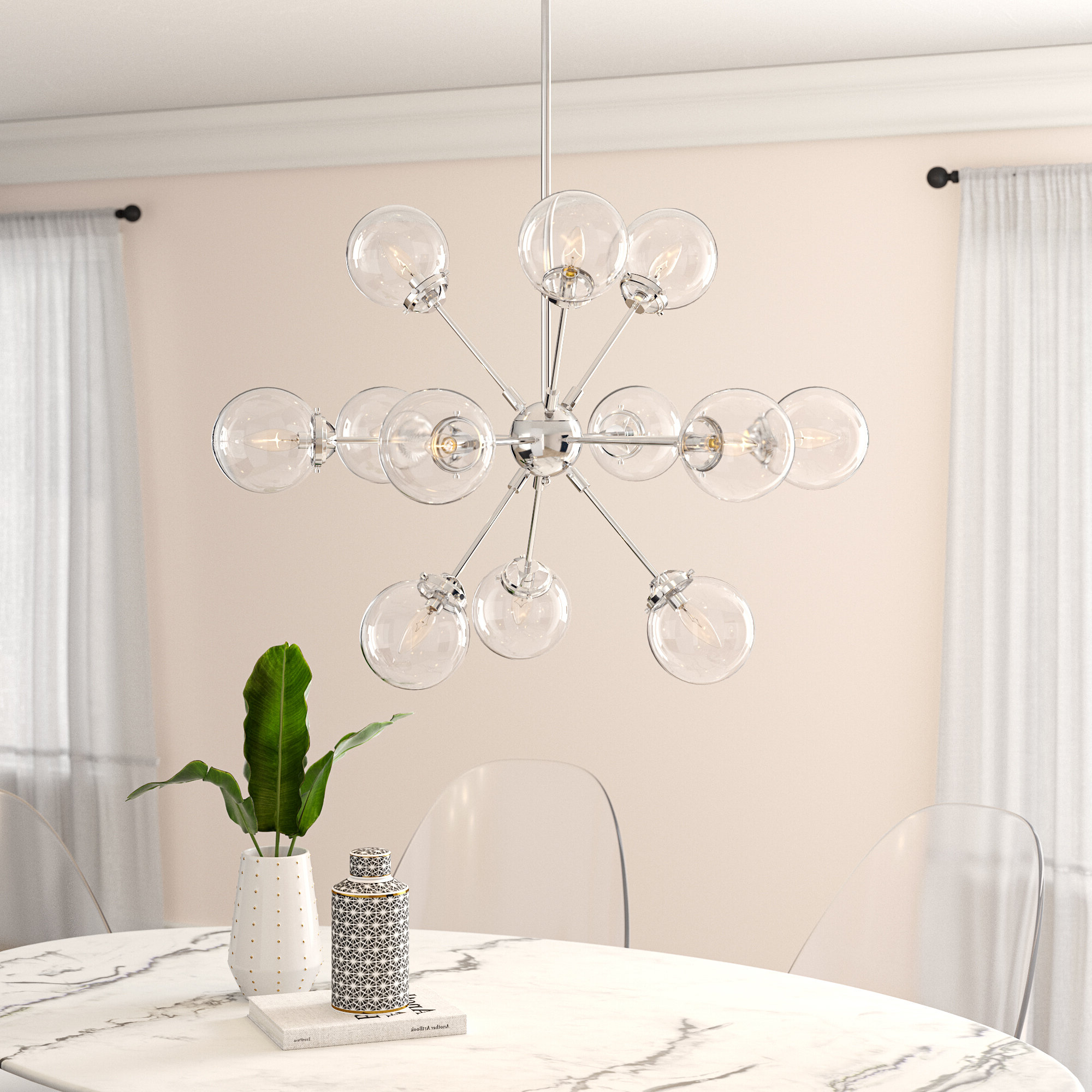Widely Used Modern Rustic Interiors Asher 12 Light Sputnik Chandelier Throughout Asher 12 Light Sputnik Chandeliers (View 7 of 25)