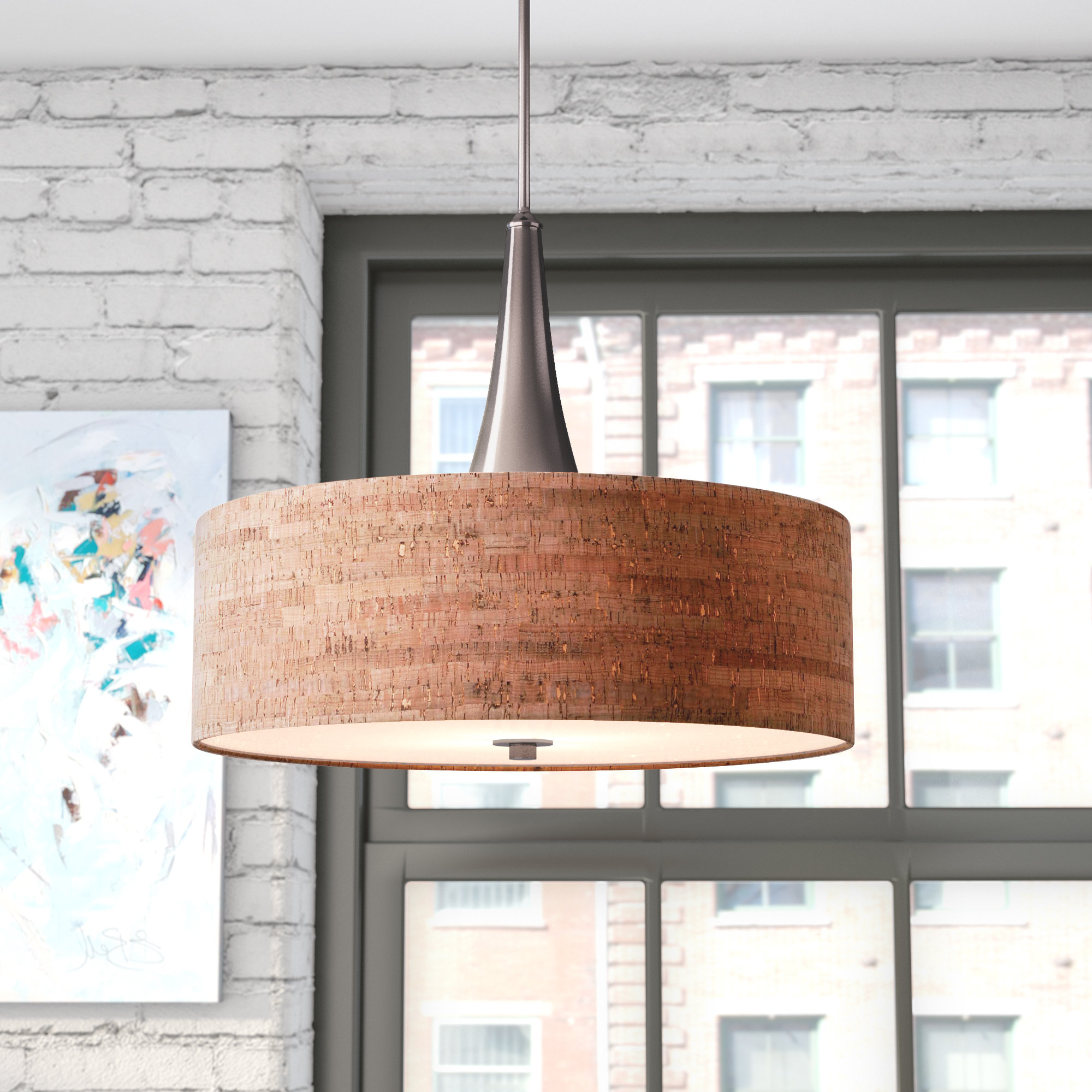 Widely Used Montes 3 Light Drum Chandelier Intended For Friedland 3 Light Drum Tiered Pendants (View 13 of 25)