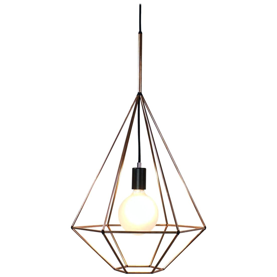 Widely Used Nisbet 6 Light Lantern Geometric Pendants Regarding Geometric Pendant Light – Soccerflash (View 19 of 25)