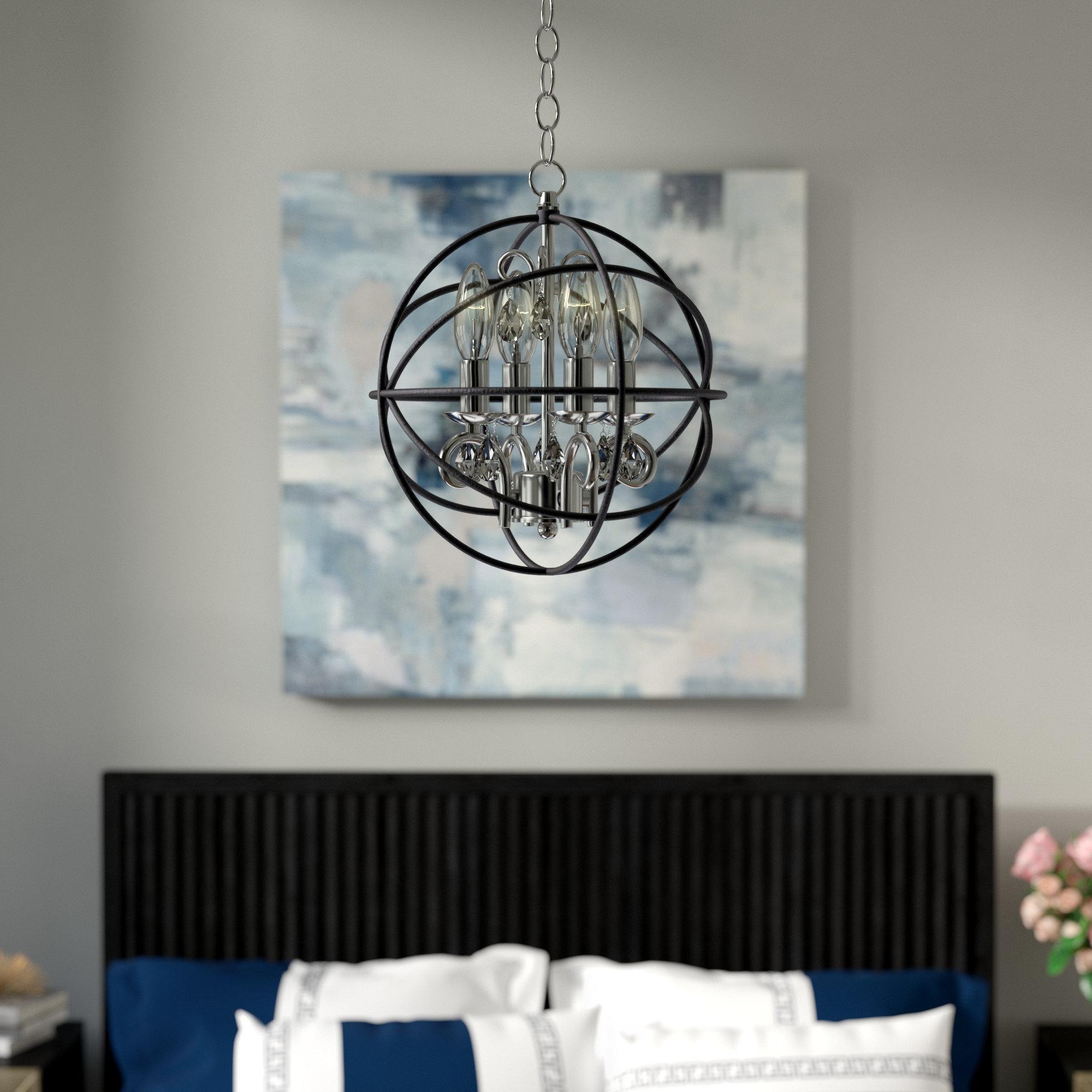 Willa Arlo Interiors Alden 3 Light Globe Pendant With Regard To Favorite Alden 3 Light Single Globe Pendants (View 11 of 25)