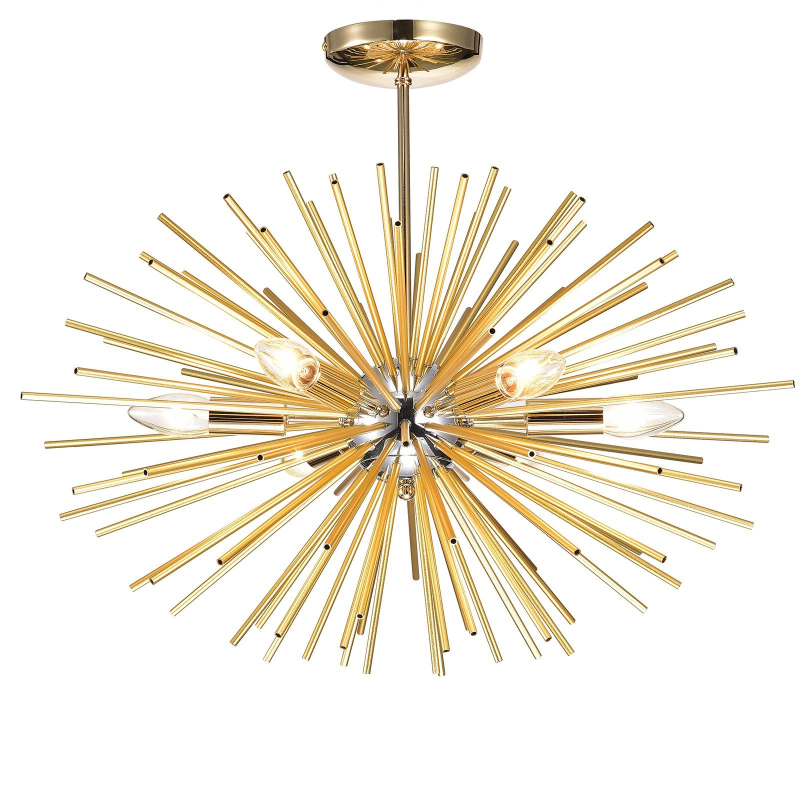 Wrought Studio Mosqueda 6 Light Sputnik Chandelier In 2019 Inside Most Popular Nelly 12 Light Sputnik Chandeliers (View 24 of 25)