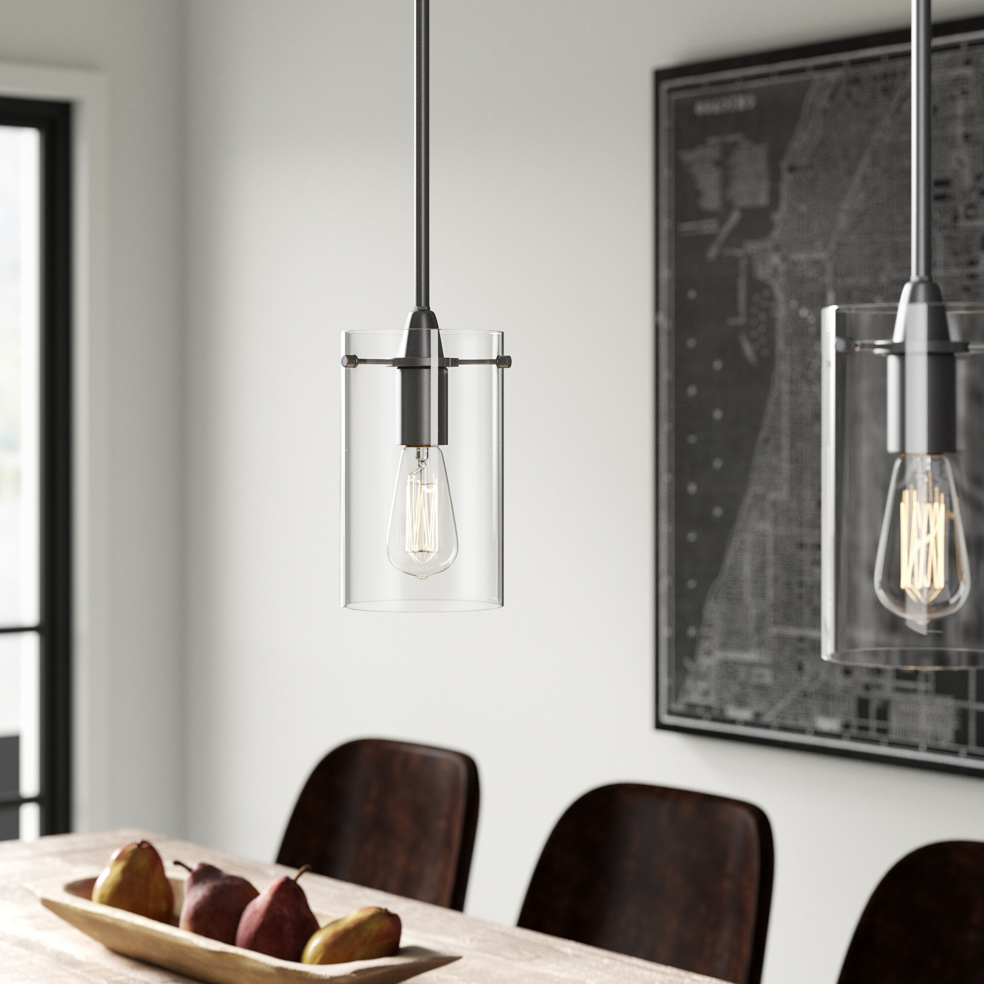 Yarger 1 Light Single Bell Pendants With Most Popular Angelina 1 Light Single Cylinder Pendant (View 10 of 25)