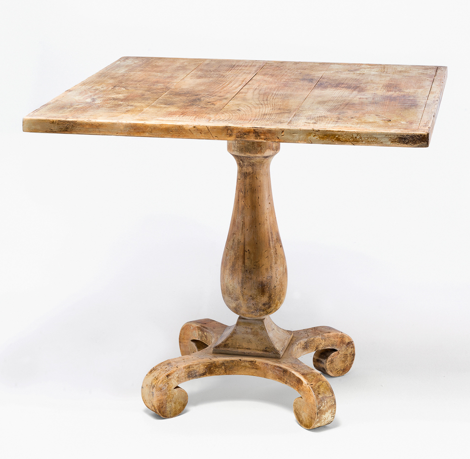 2019 Blair Bistro Tables for Sarreid Ltd Bistro Table Antique Oak U021-01